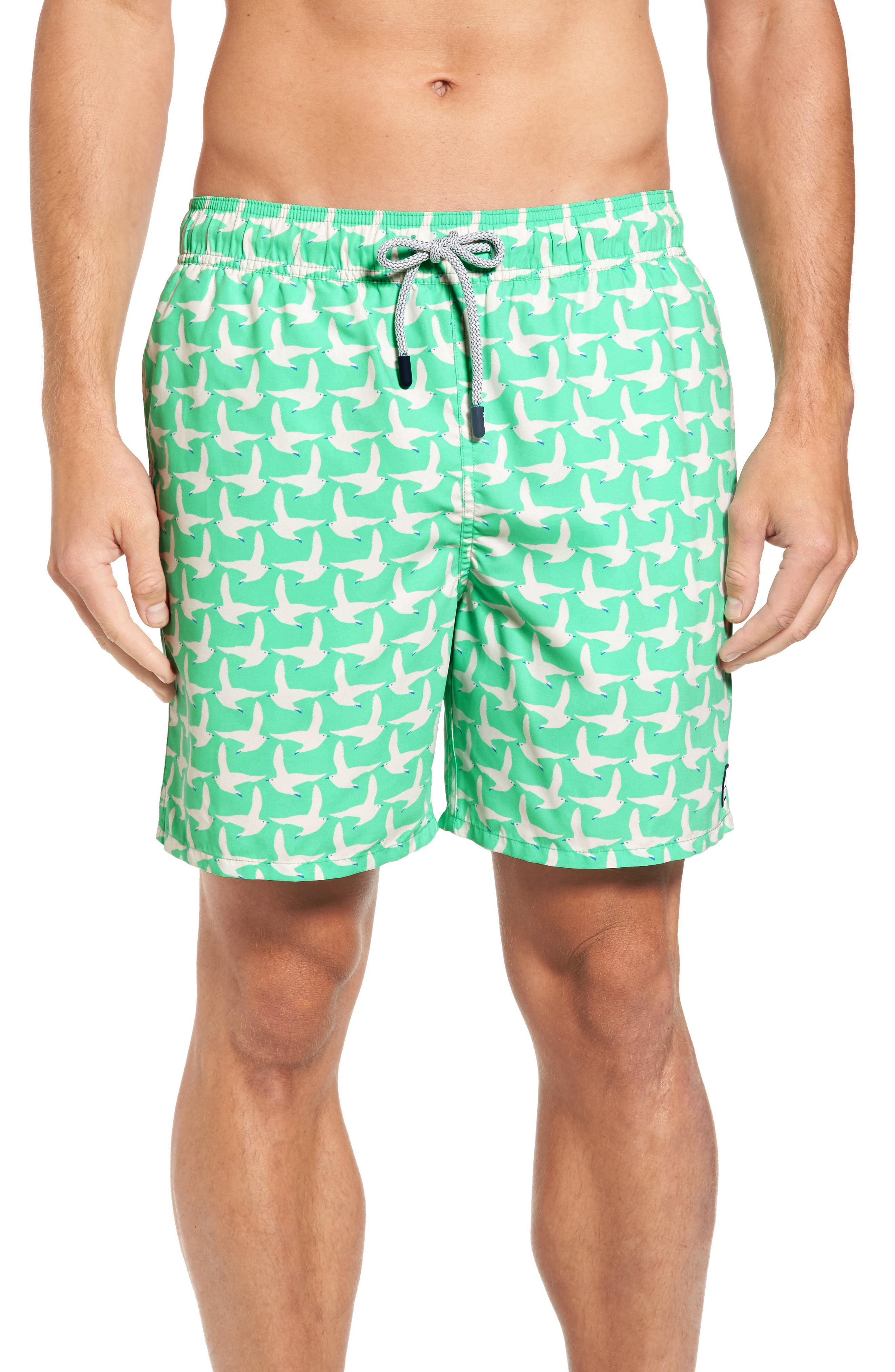 Tom & Teddy Seagull Swim Trunks