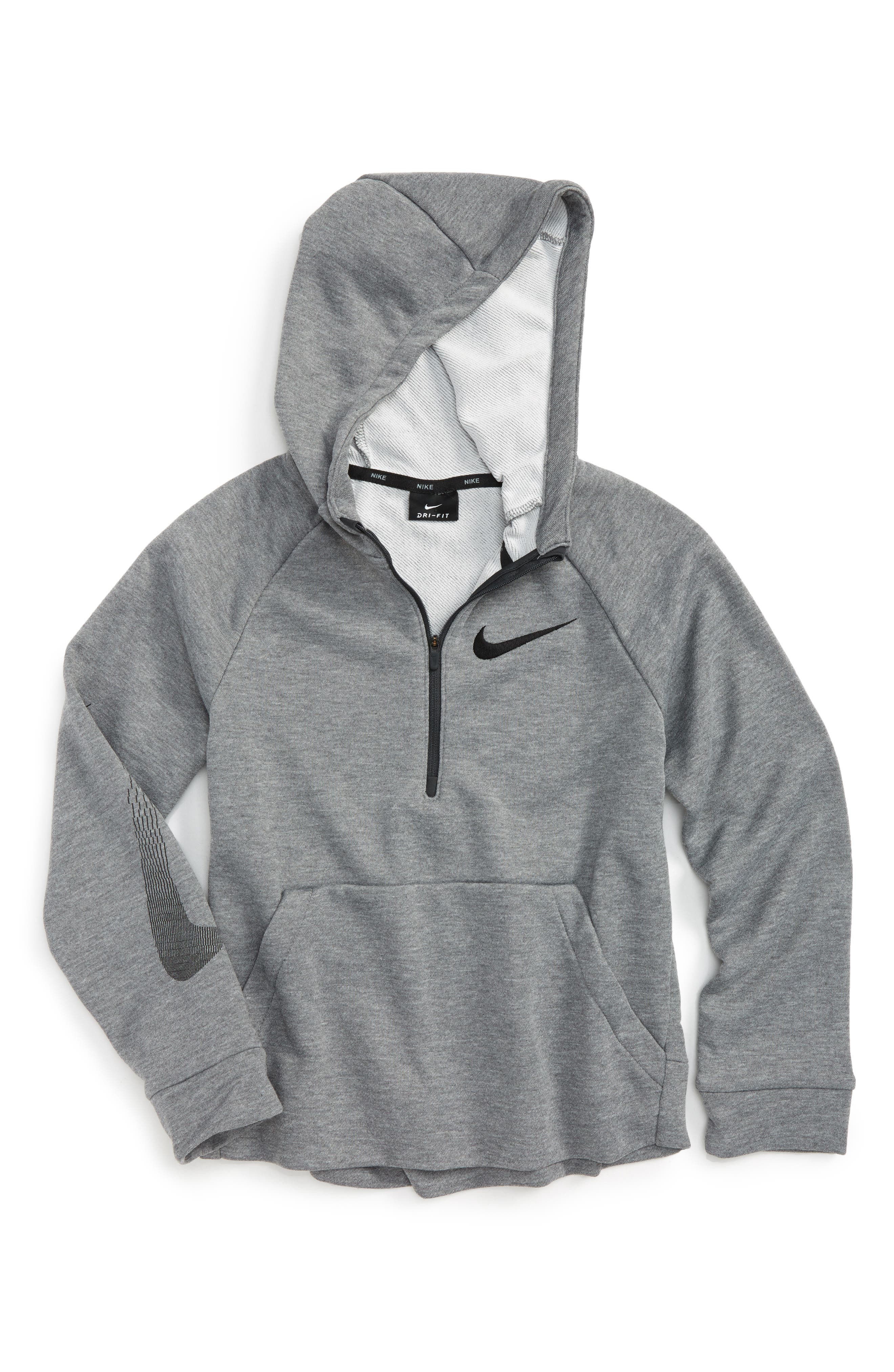 Nike GFX Dri-FIT Half Zip Hoodie (Little Boys & Big Boys)