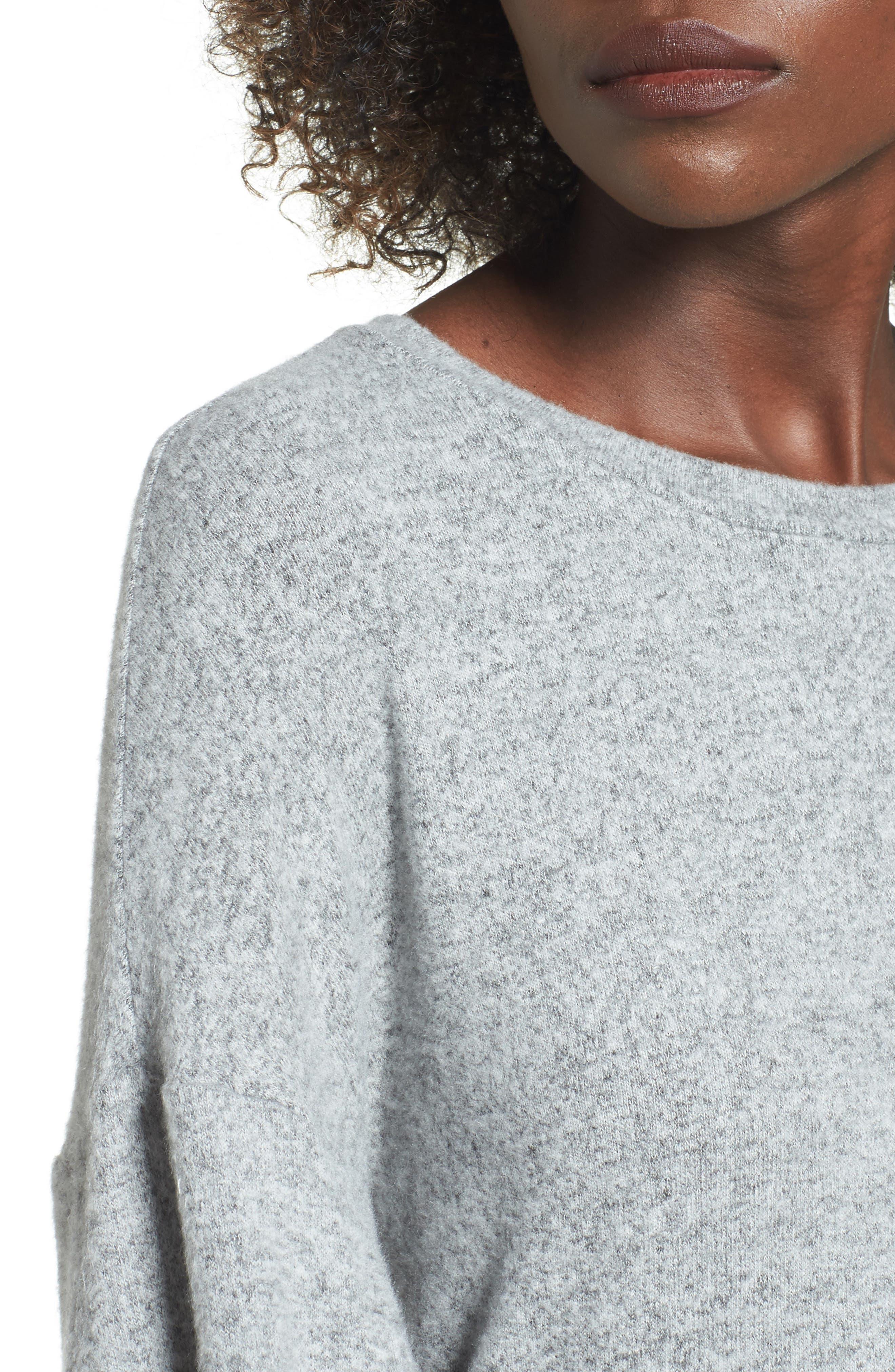 Alternate Image 4  - Soprano Balloon Sleeve Sweater Dress