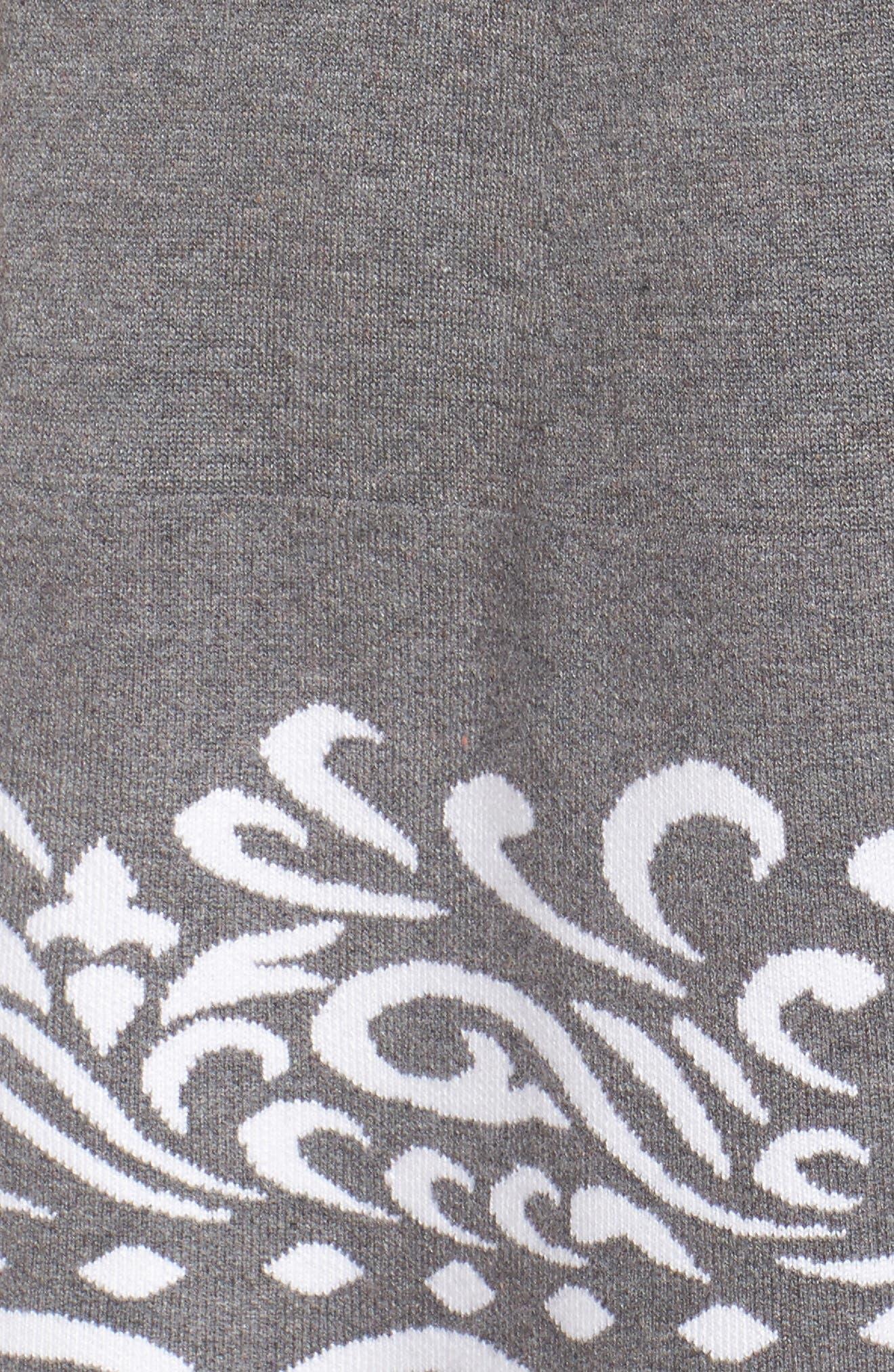 Alternate Image 5  - Eliza J A-Line Sweater Dress (Plus Size)
