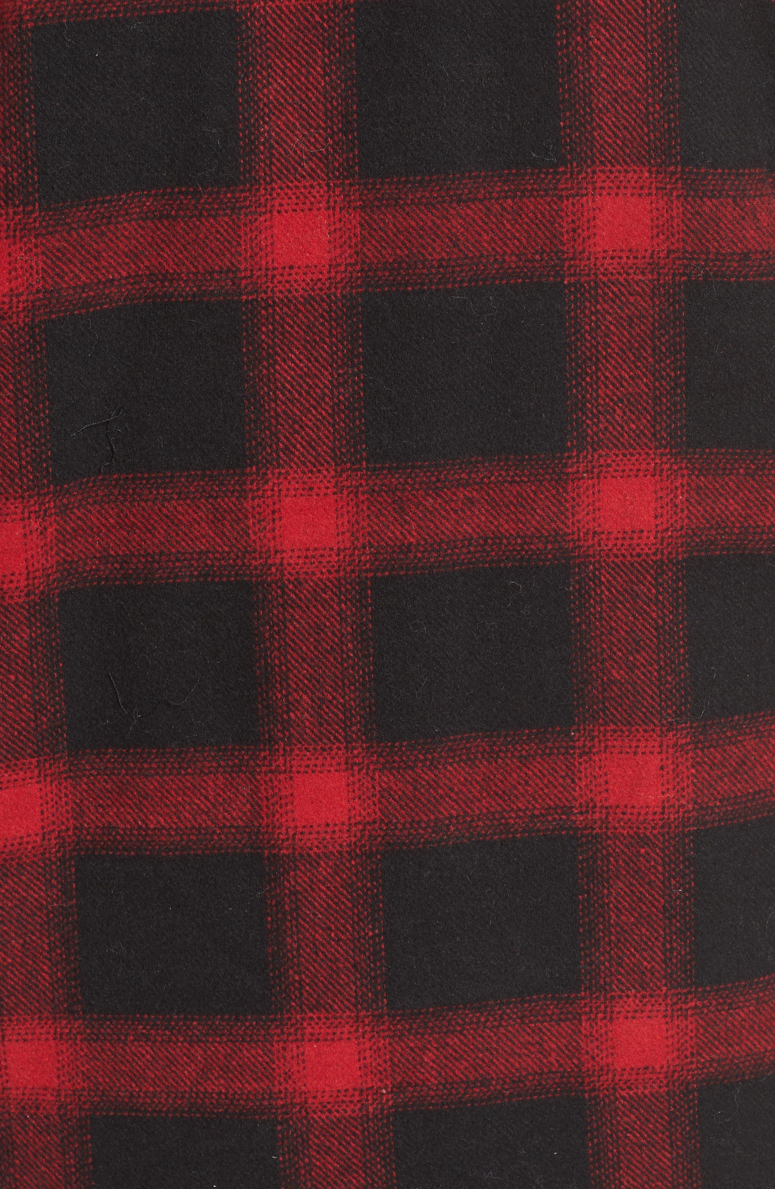 Alternate Image 6  - BB Dakota Bradley Fleece Lined Plaid Coat