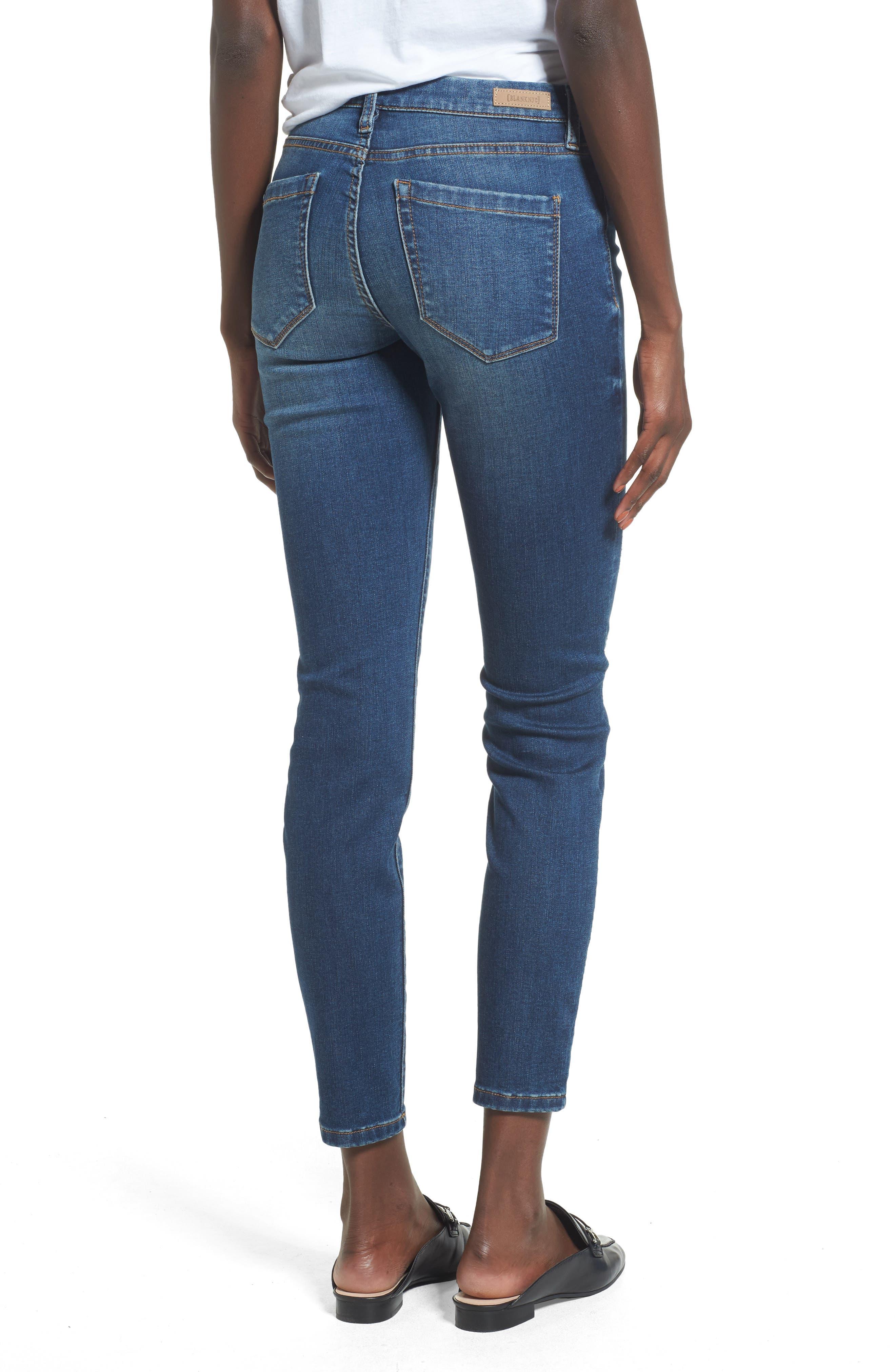 Alternate Image 2  - BLANKNYC Great Escape Skinny Jeans