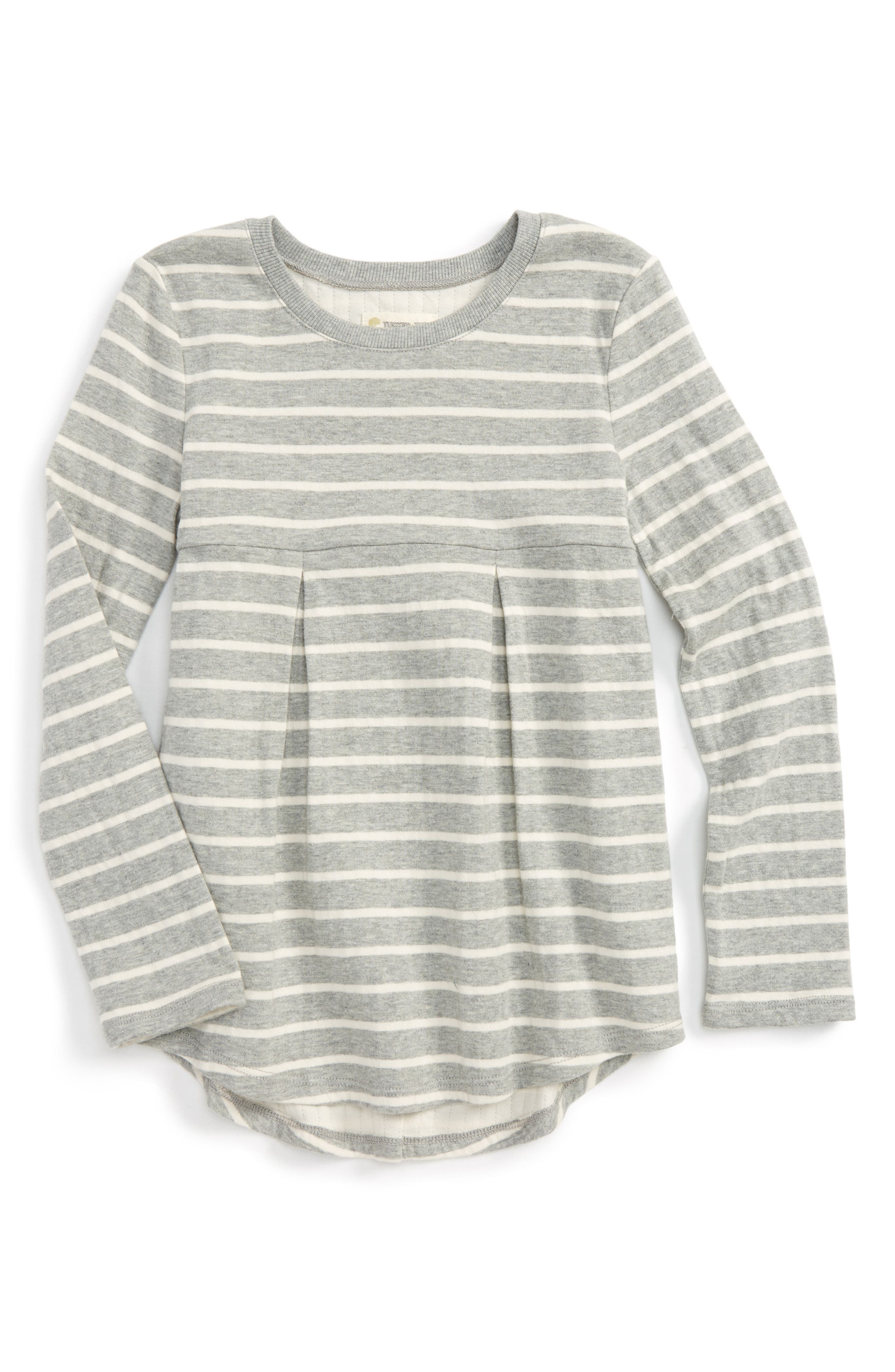 Tucker + Tate Double Knit Stripe Tunic (Toddler Girls, Little Girls & Big Girls)