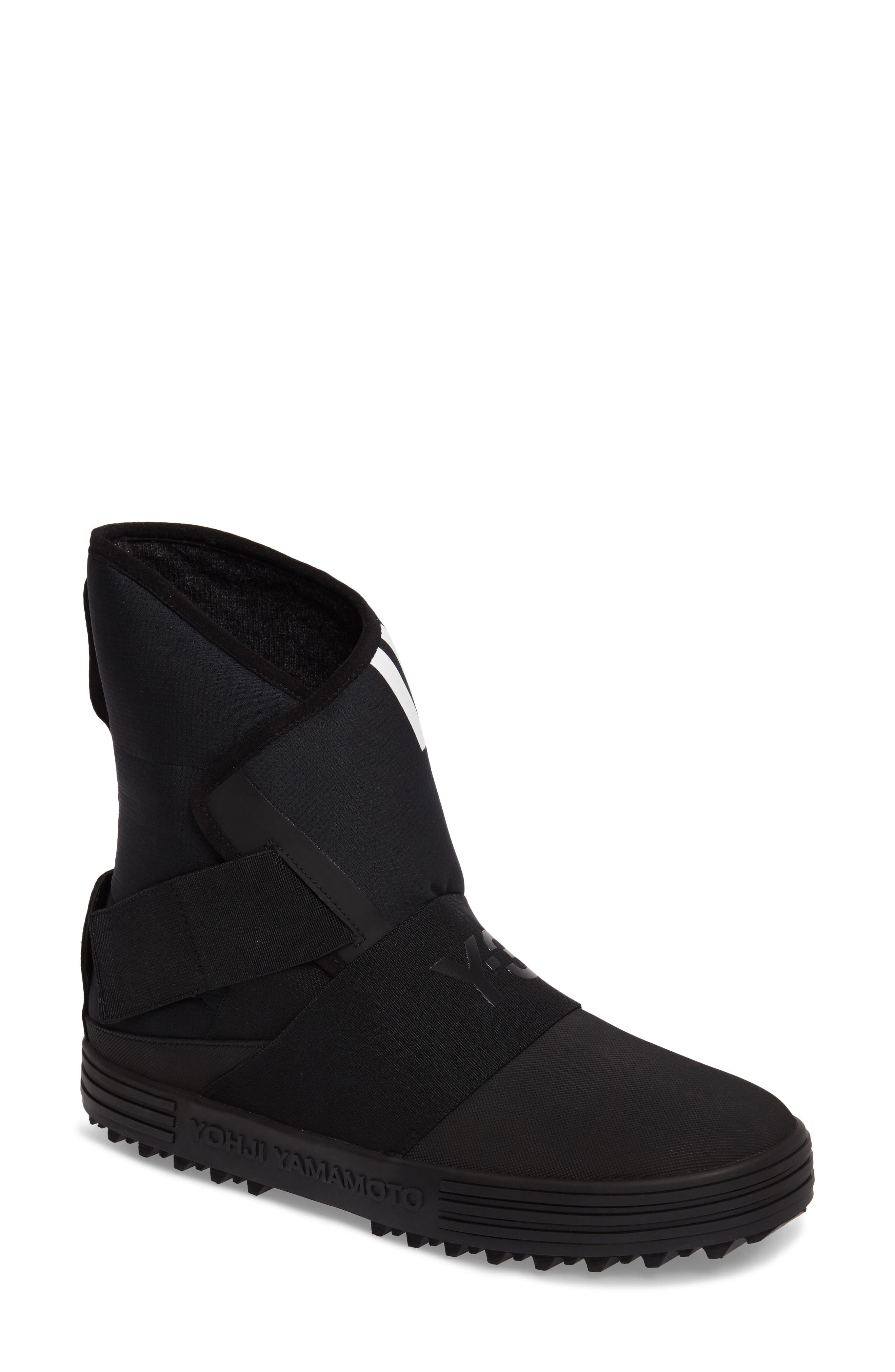 Sno Foxing High Top Sneaker,                         Main,                         color, Core Black / White