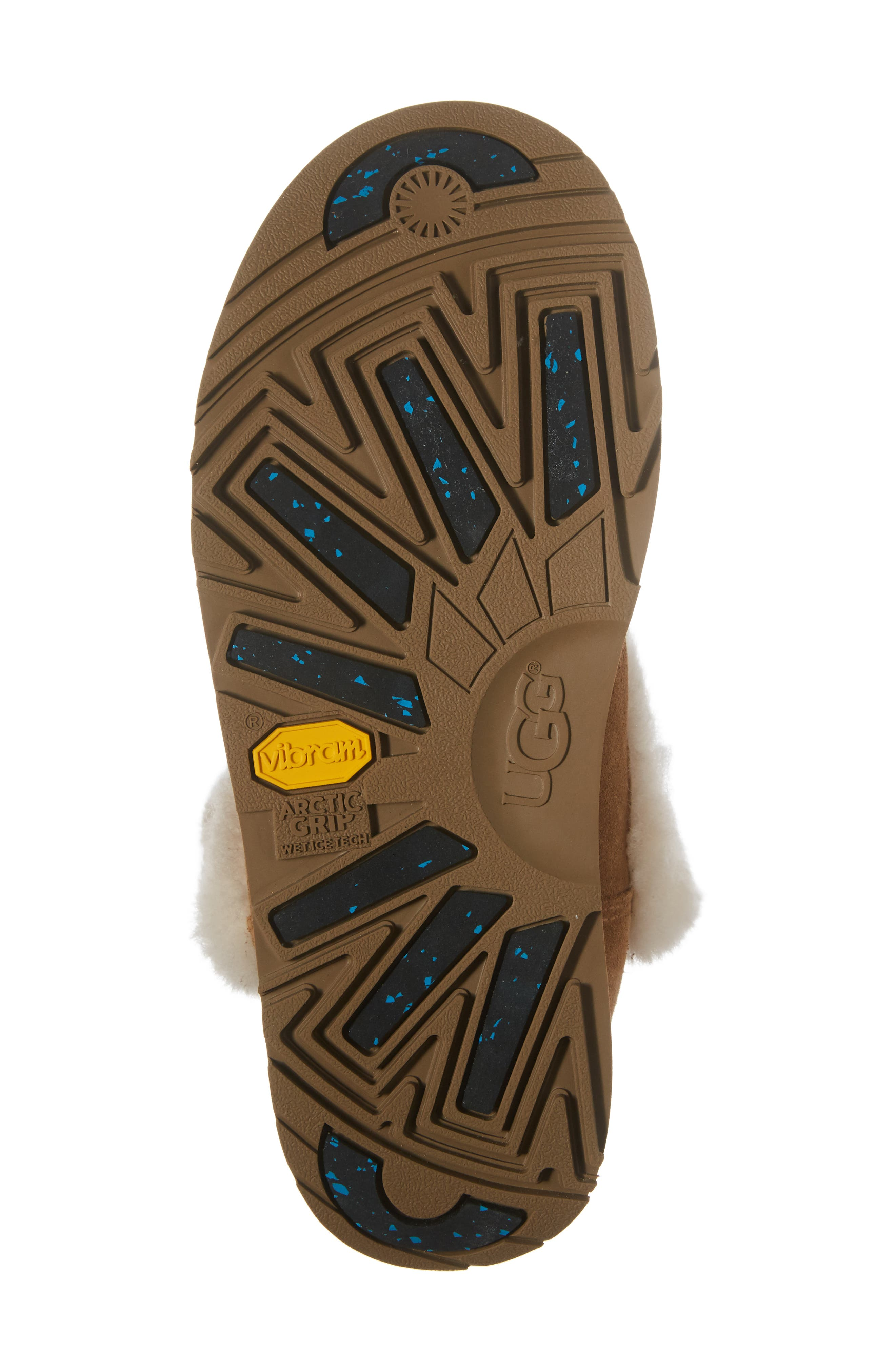 Alternate Image 6  - UGG® Sundance Genuine Shearling Waterproof Boot (Women)