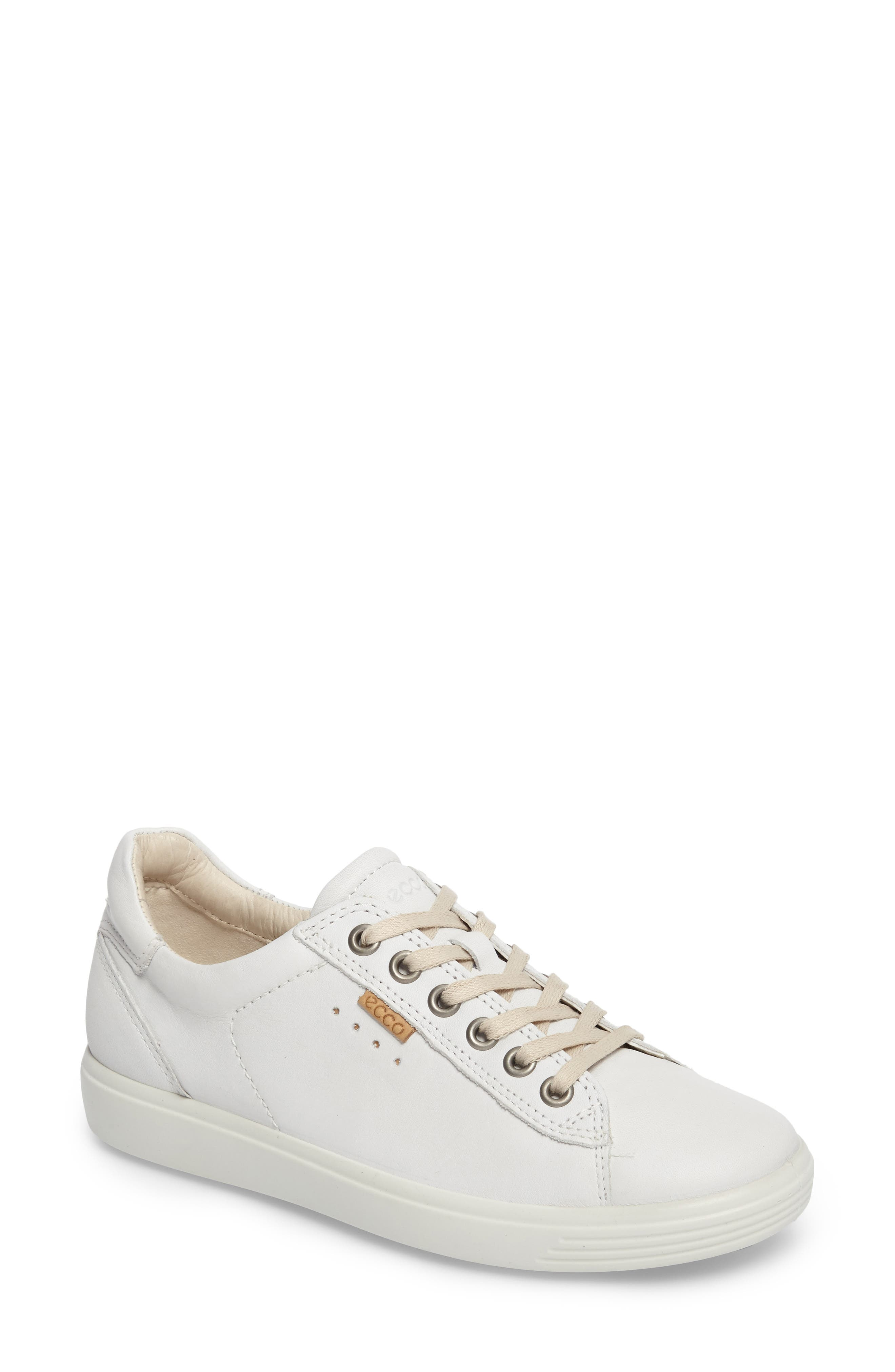 ECCO Soft 7 Long Lace Sneaker (Women)