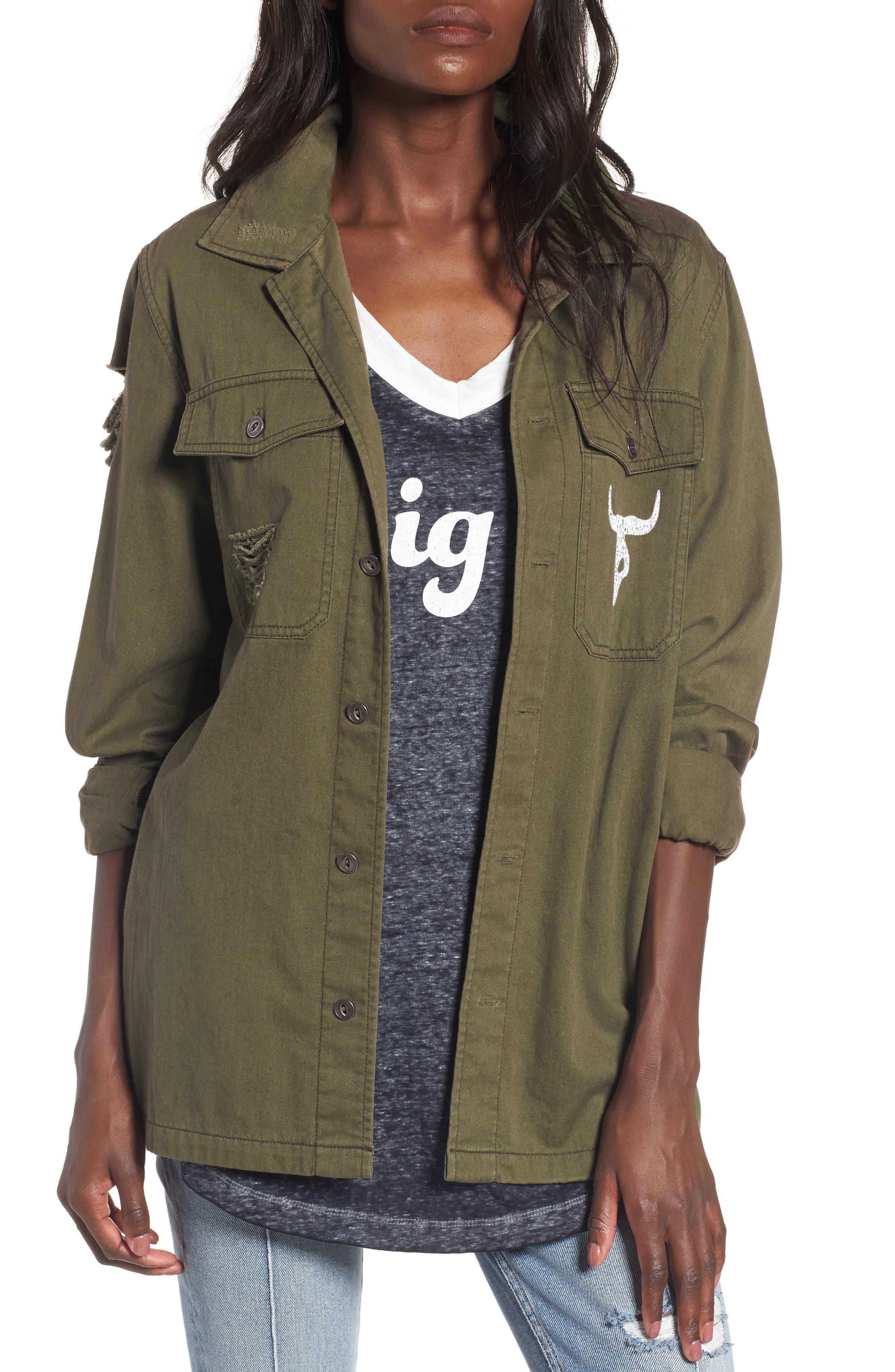 Main Image - Show Me Your Mumu Army Jacket