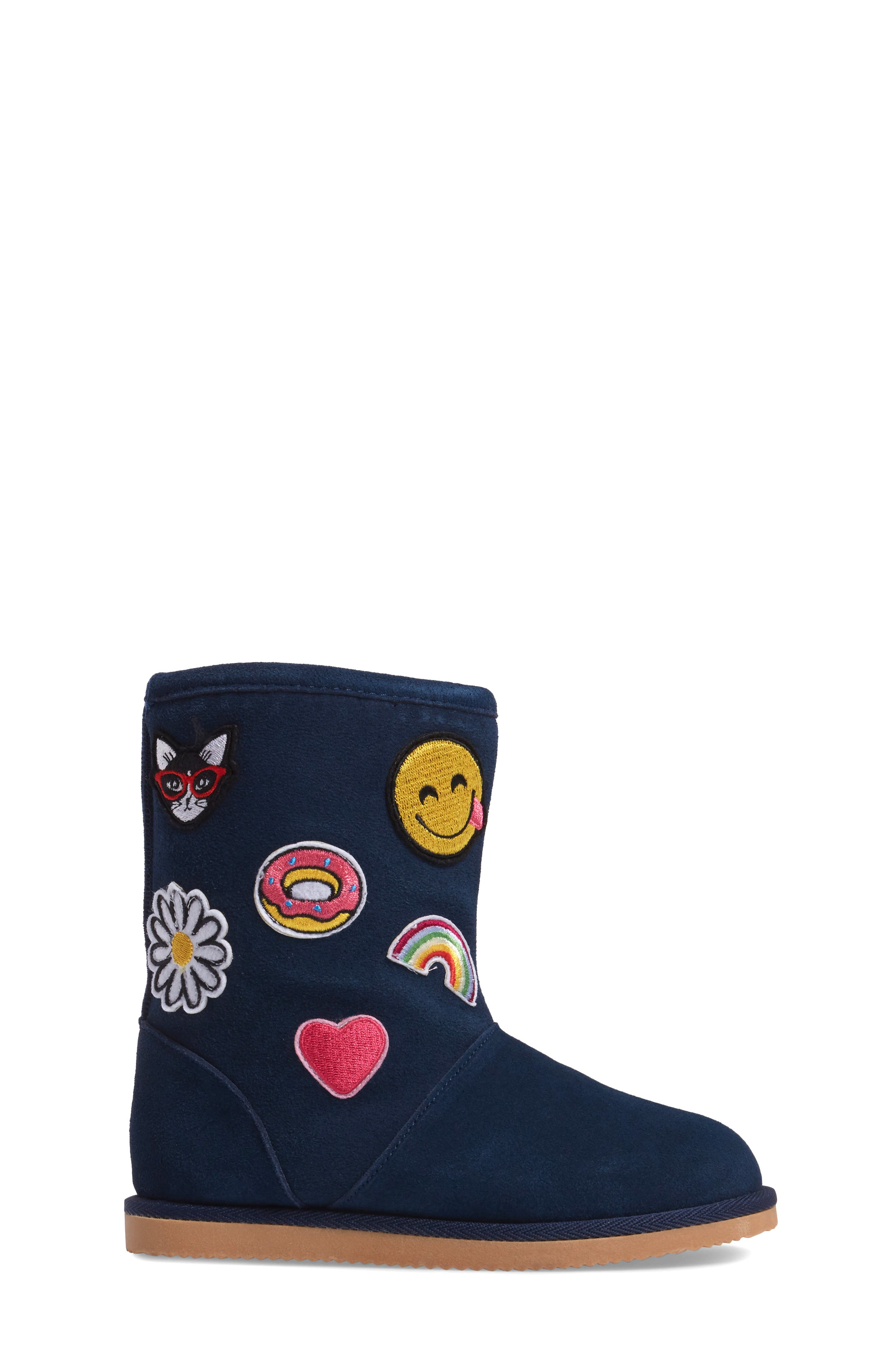 Alternate Image 3  - Tucker + Tate Connie Appliqué Faux Fur Boot (Walker, Toddler, Little Kid & Big Kid)
