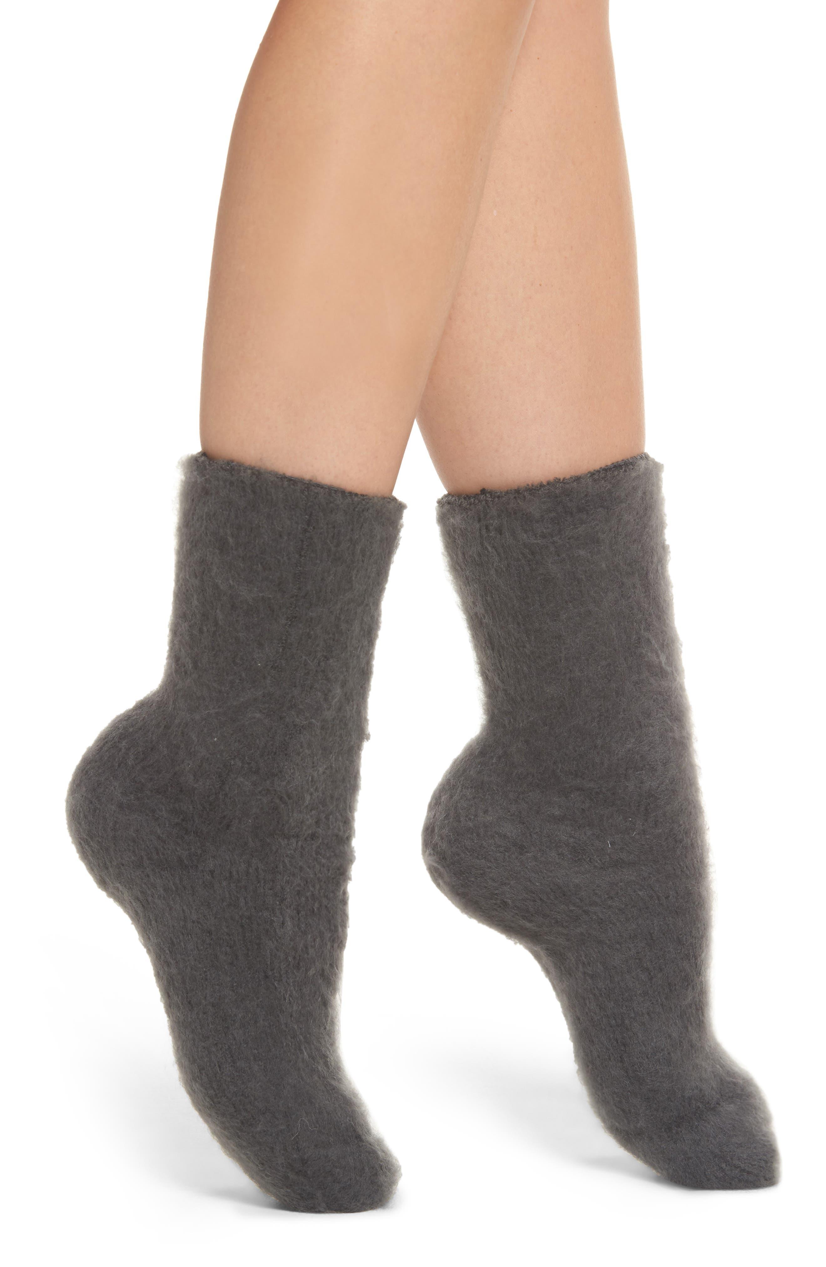 Lemon Winter Fog Socks