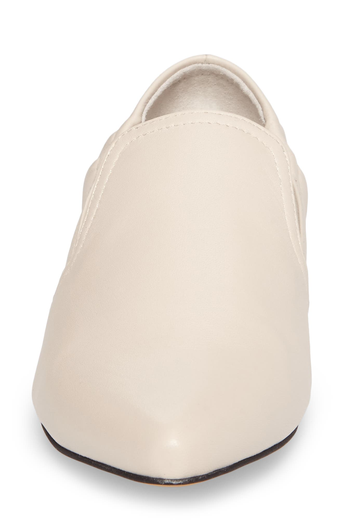 Hamond Loafer,                             Alternate thumbnail 4, color,                             Ivory Leather
