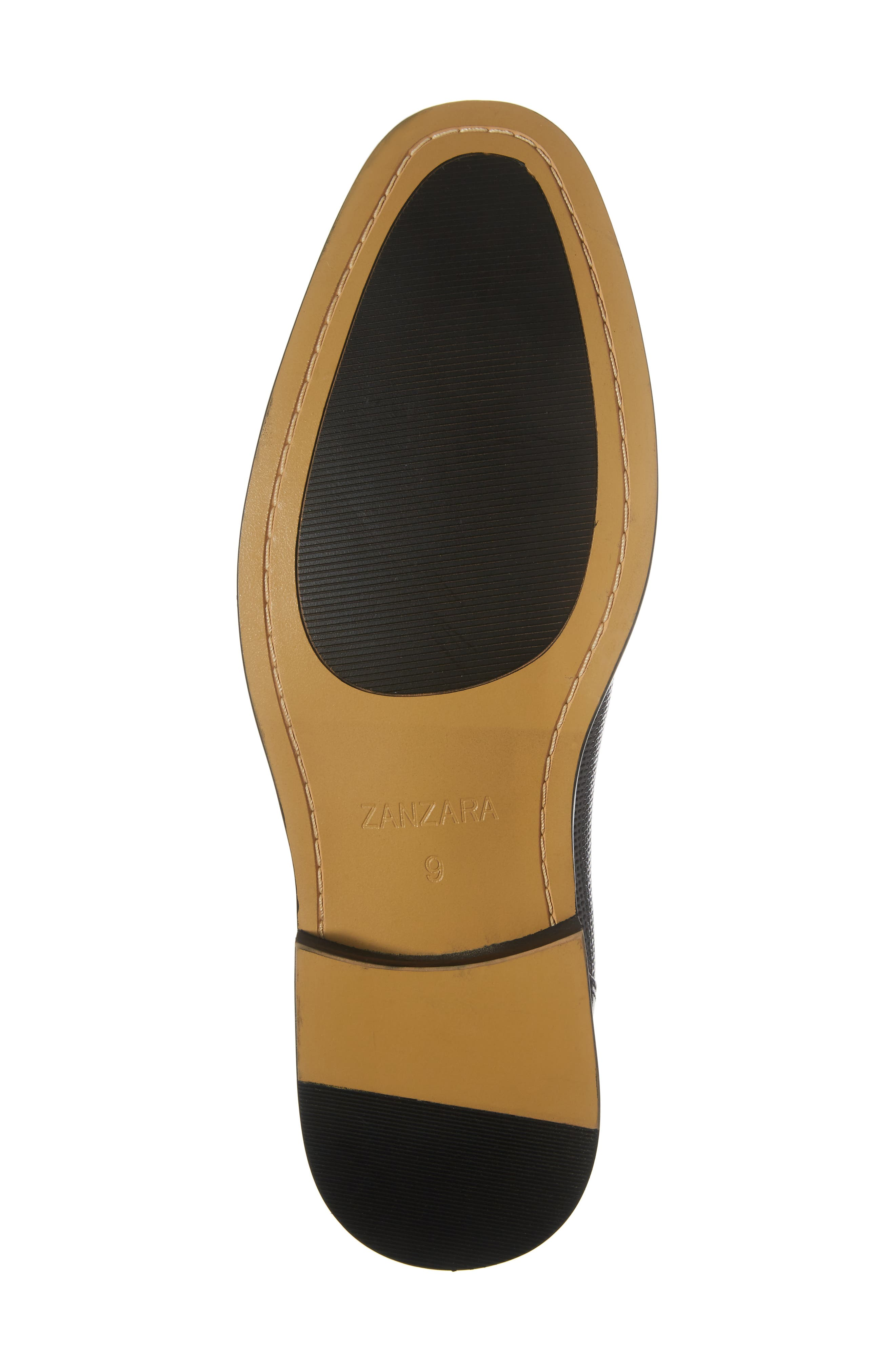 Dayes Cap Toe Derby,                             Alternate thumbnail 6, color,                             Navy Leather