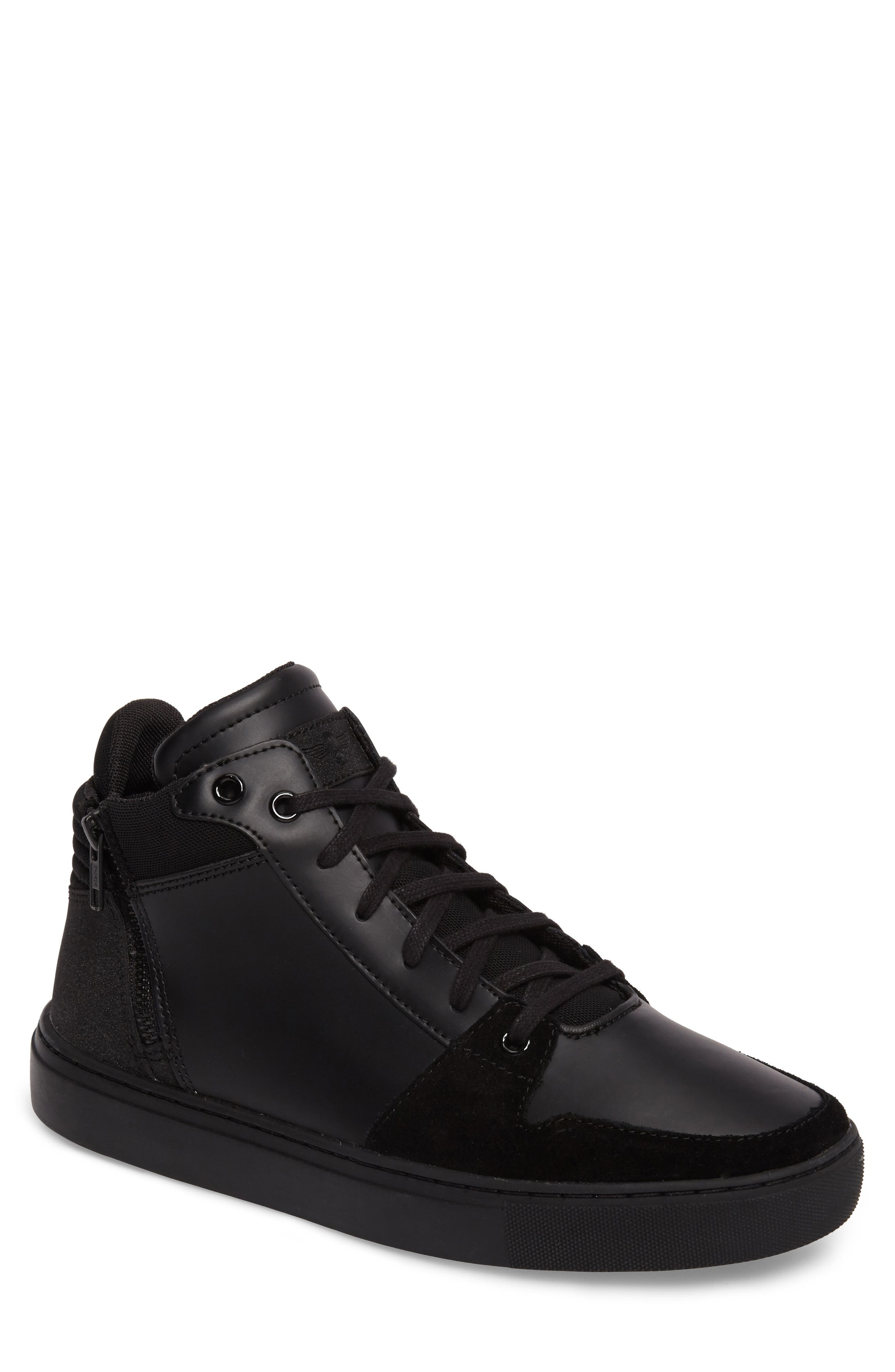 Modena Sneaker,                             Main thumbnail 1, color,                             Black Tech