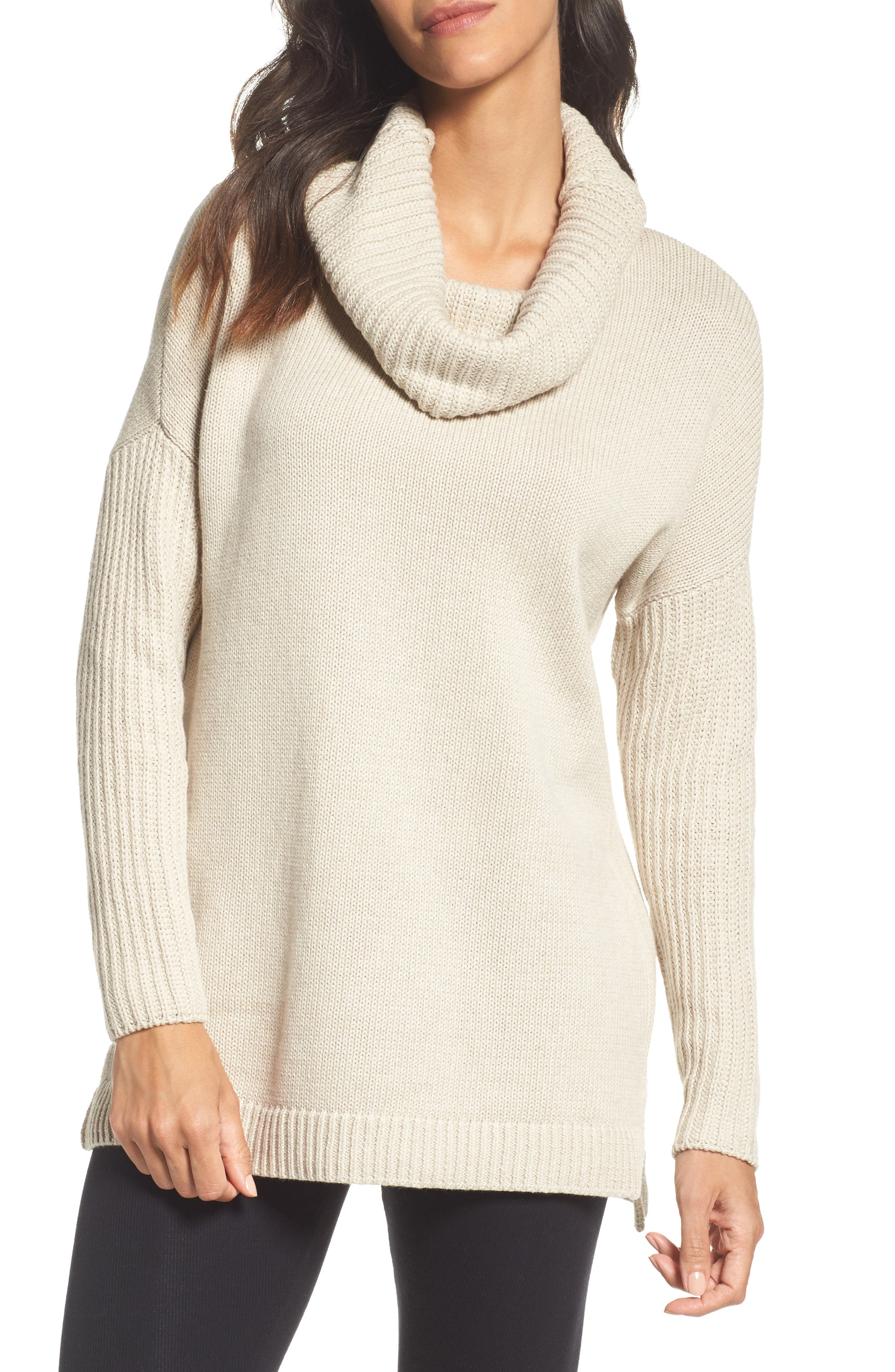 UGG® Cowl Neck Tunic Sweater