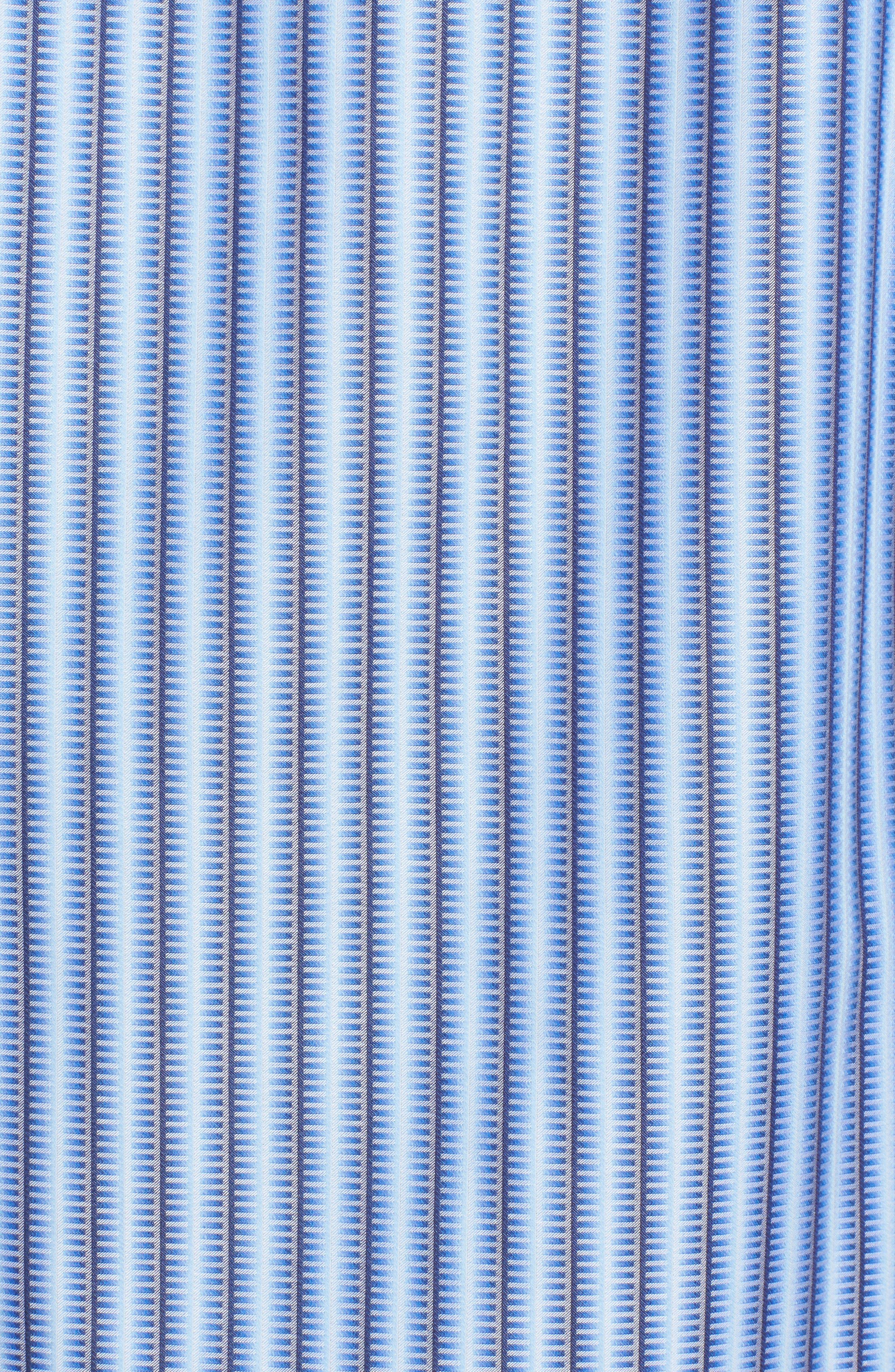 Alternate Image 5  - Bugatchi Classic Fit Striped Sport Shirt