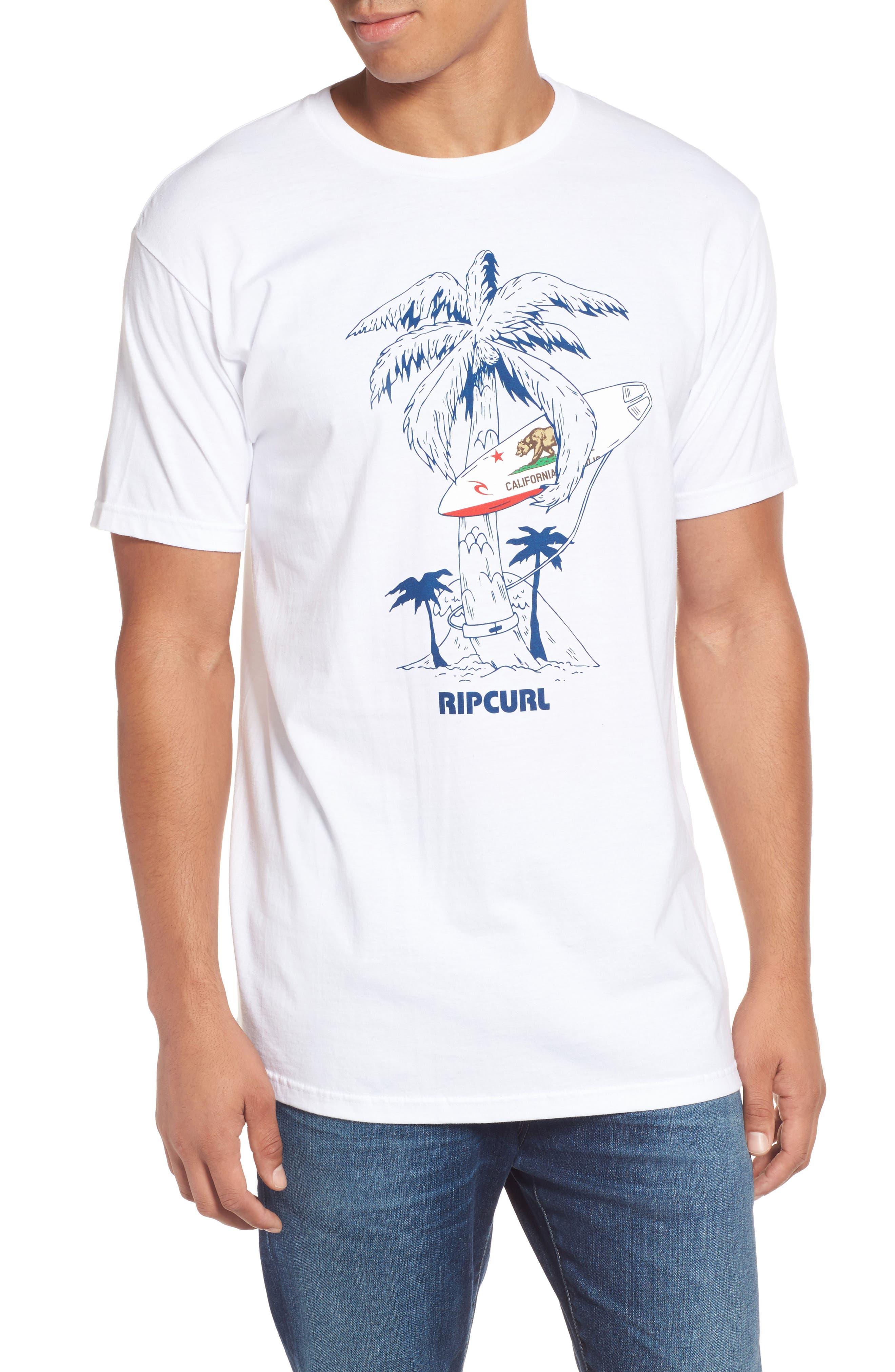 Rip Curl Cali Vibes Premium Graphic T-Shirt