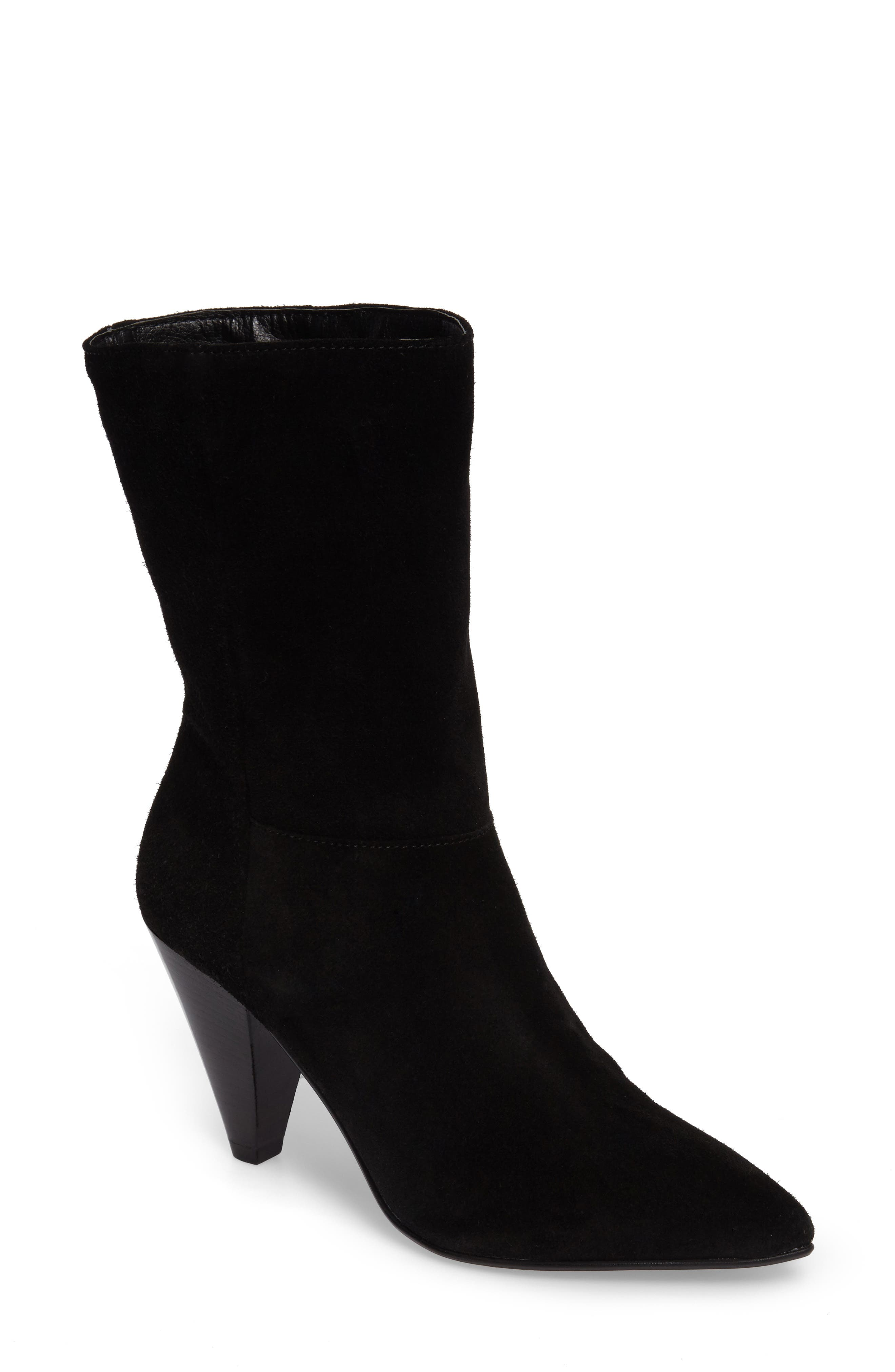 Main Image - Topshop Hollie Pointy Toe Bootie (Women)