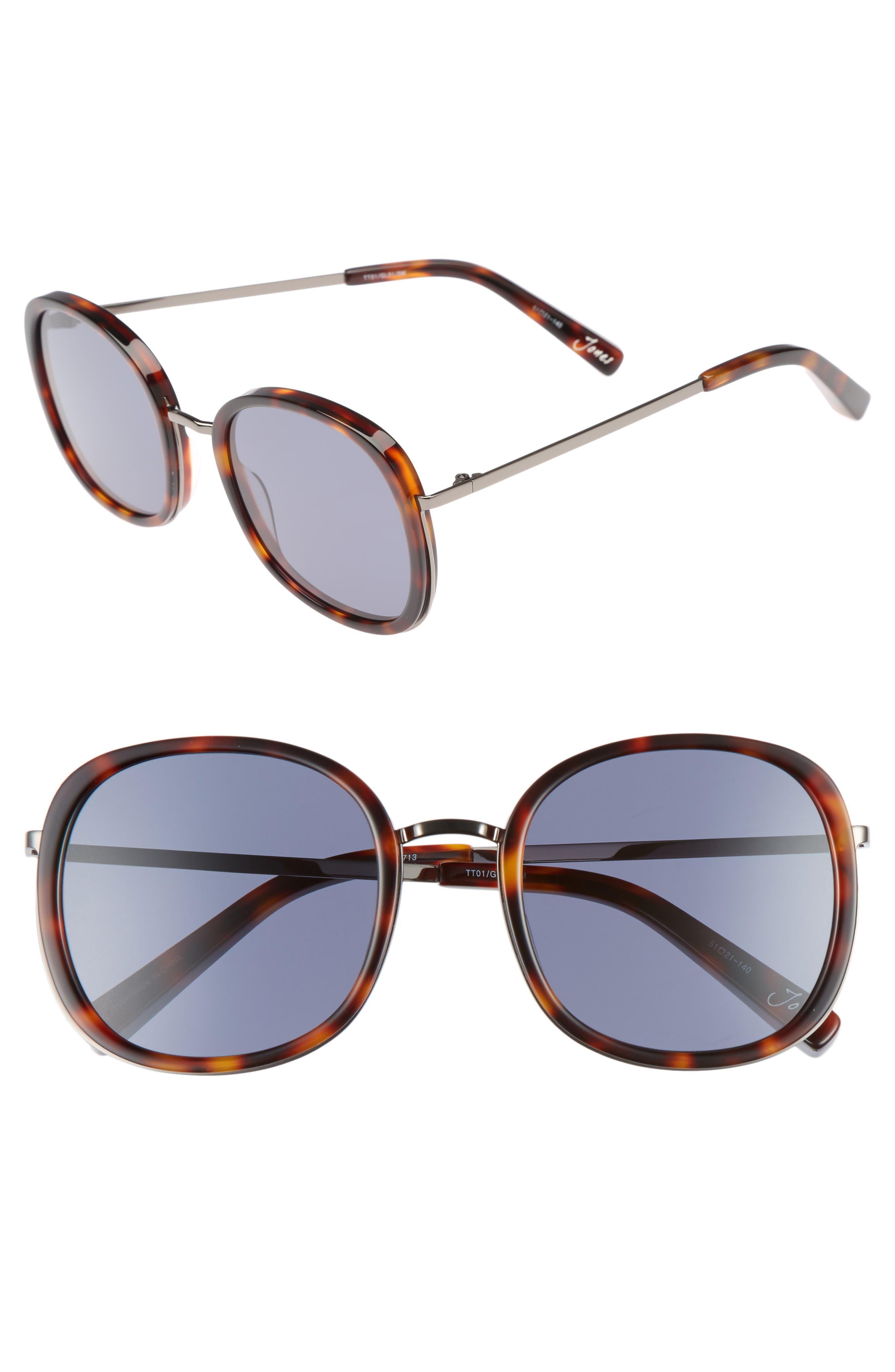 Main Image - Elizabeth and James Jones 51mm Round Sunglasses