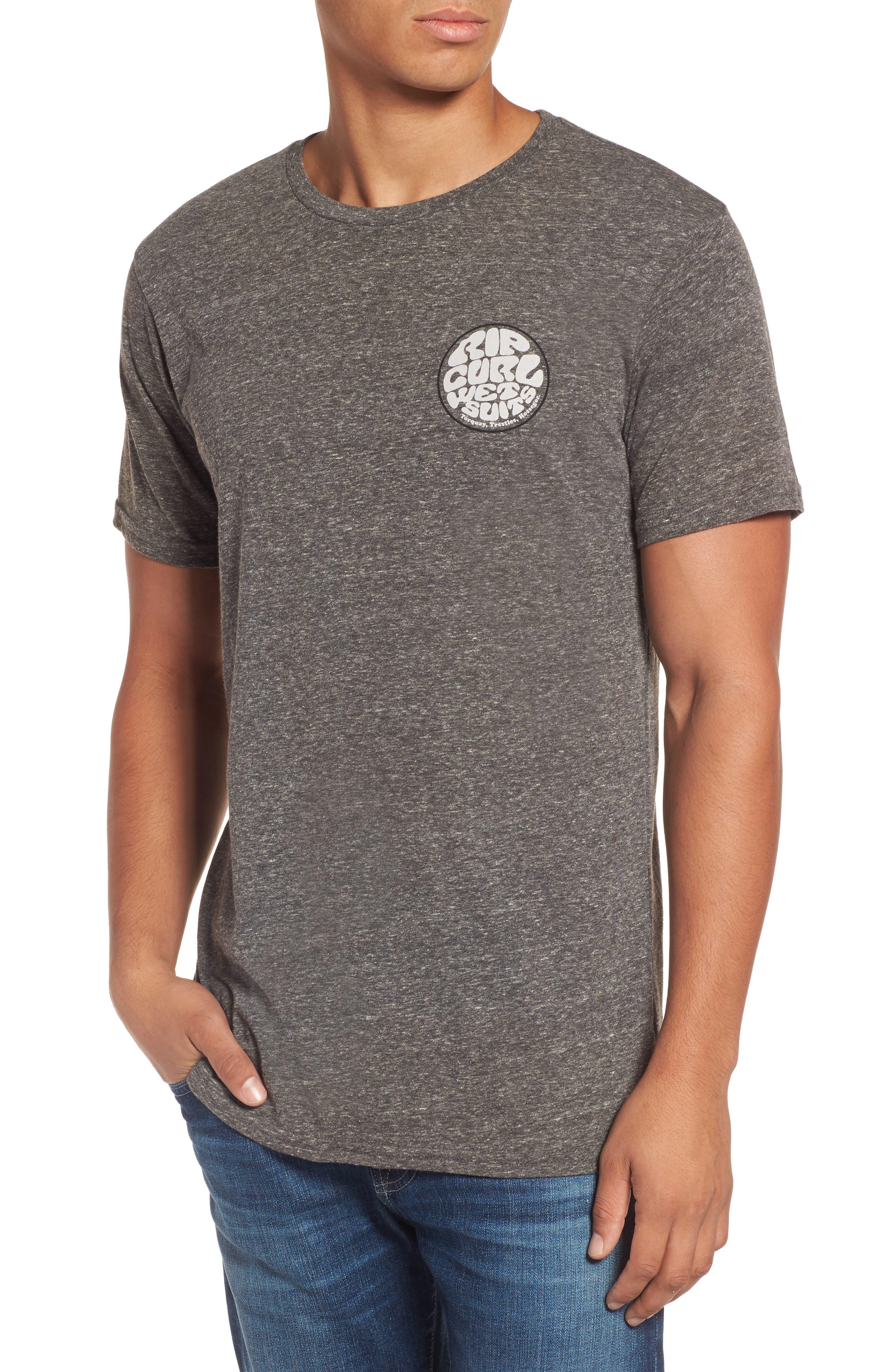 Rip Curl The Wettie Slubbed Logo Graphic T-Shirt