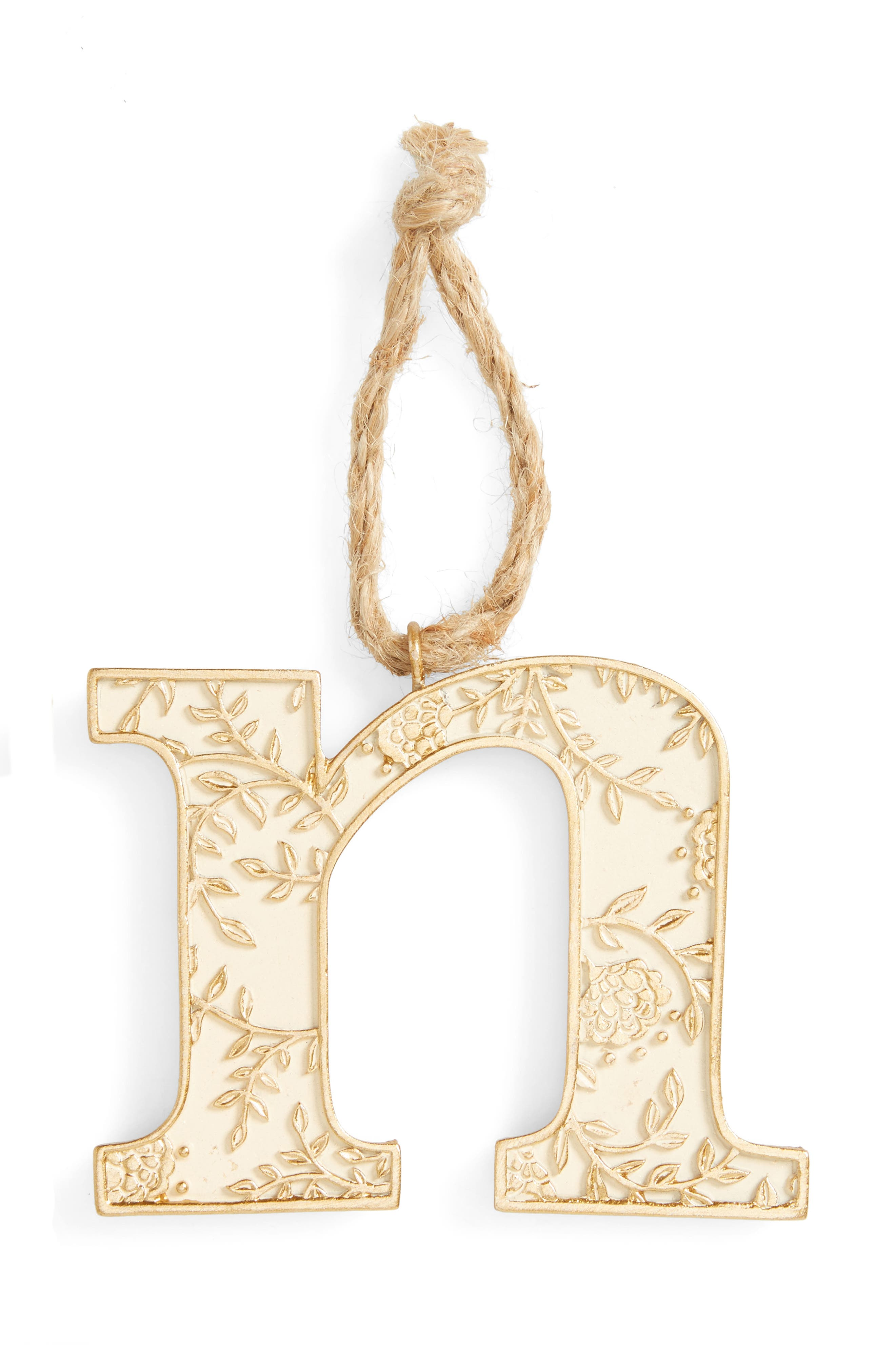 Levtex Letter Ornament