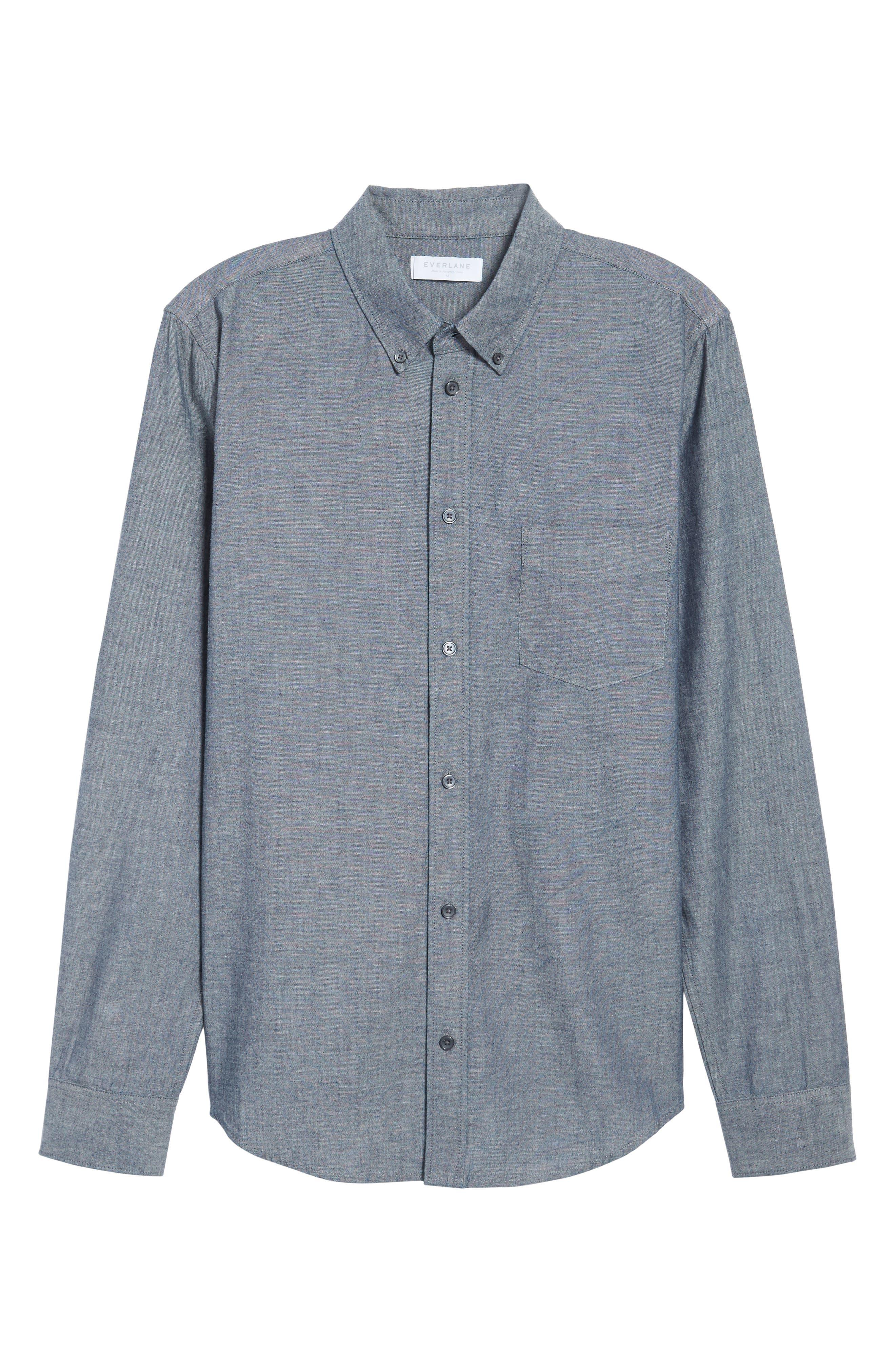 Alternate Image 5  - Everlane The Slim Fit Chambray Shirt