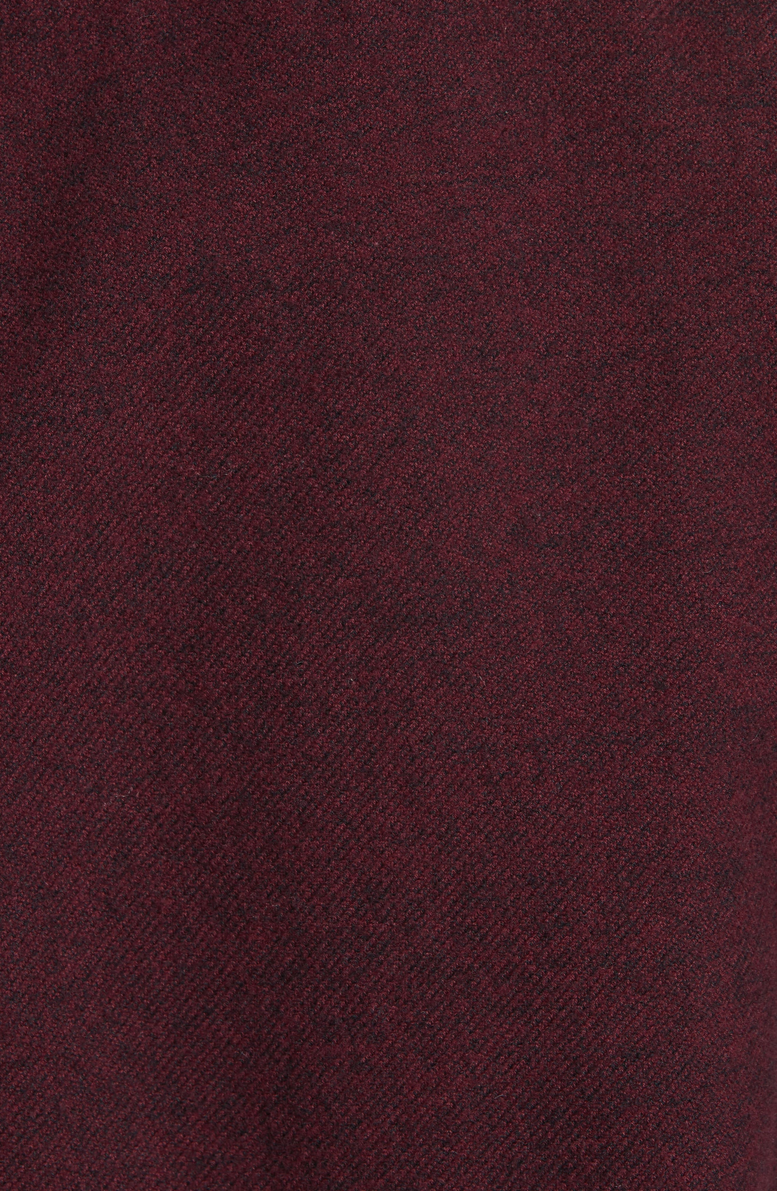 Fit 2 Base Woven Shirt,                             Alternate thumbnail 5, color,                             Burgundy