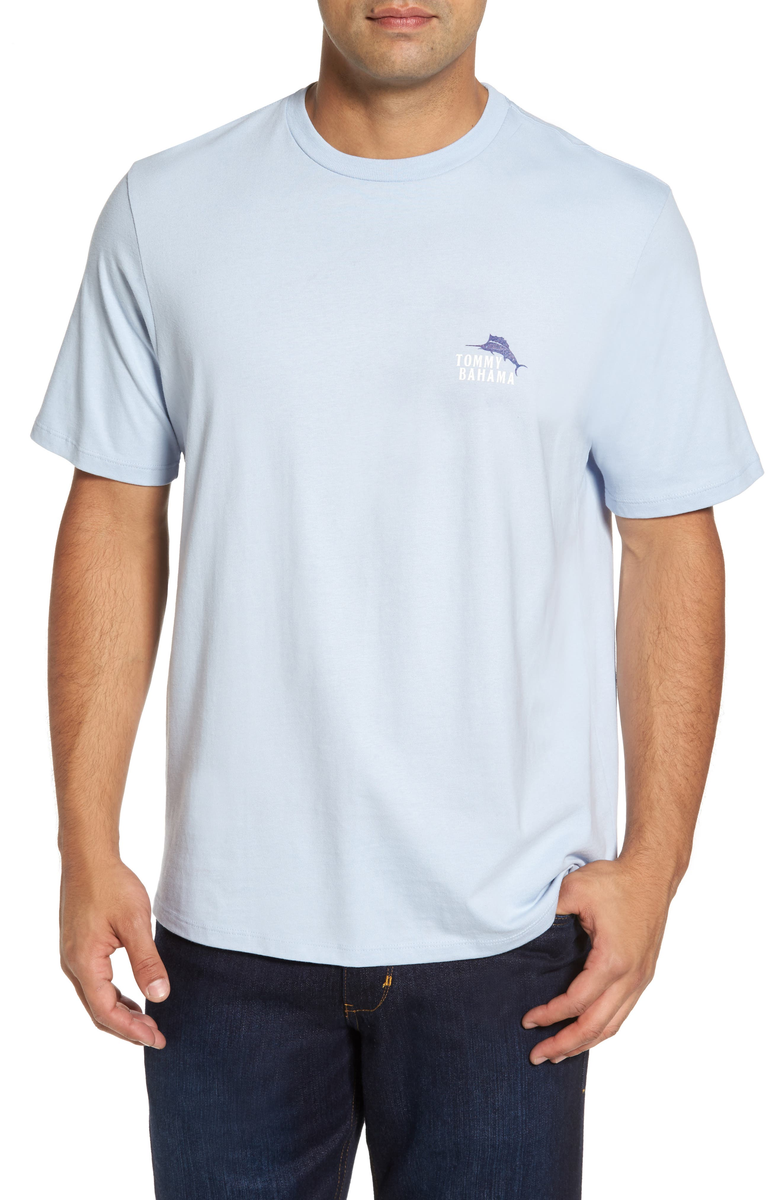 Casting Call Standard Fit T-Shirt,                         Main,                         color, Fresh Air