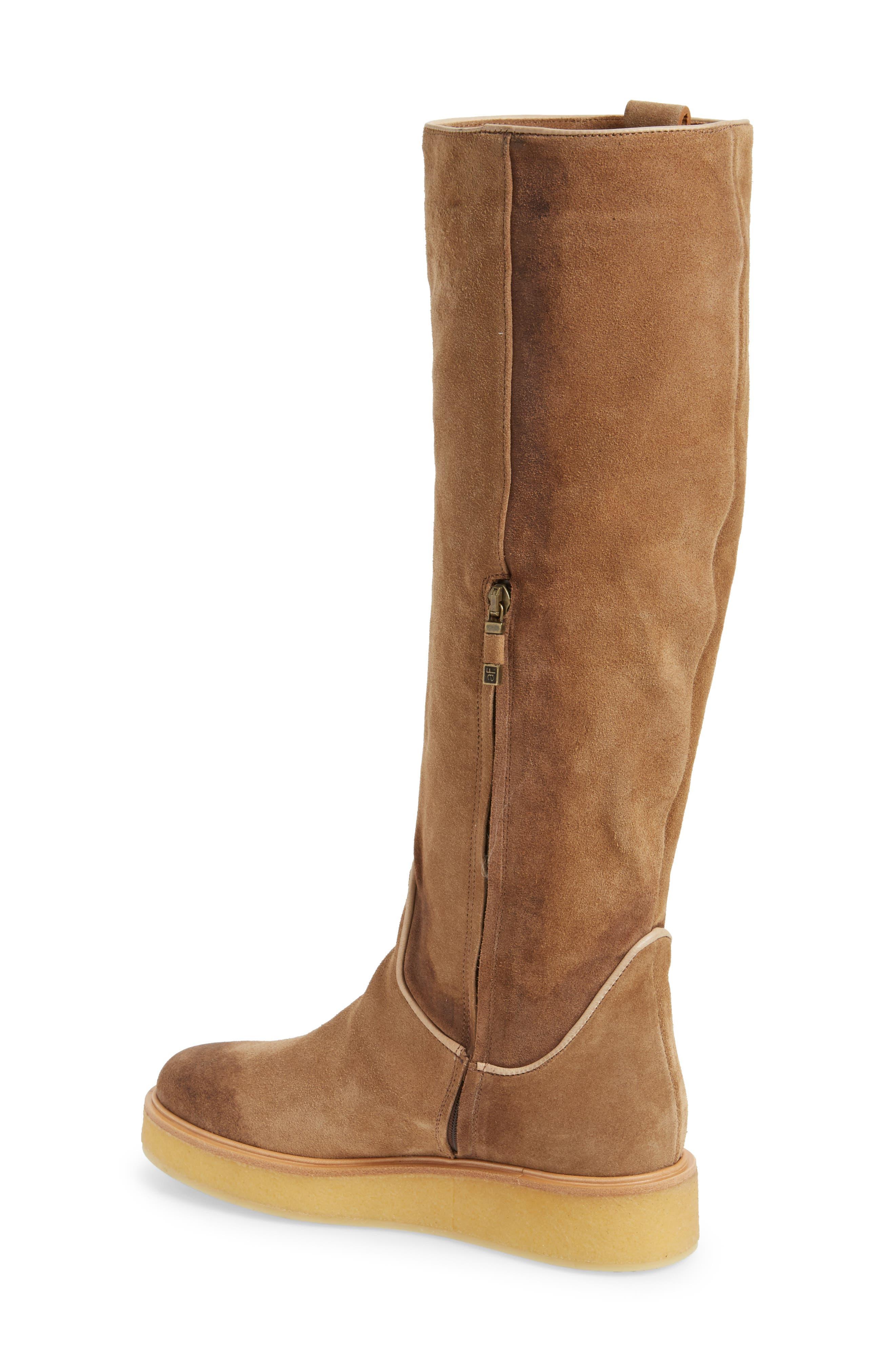 Nerola Knee High Boot,                             Alternate thumbnail 2, color,                             Sahara