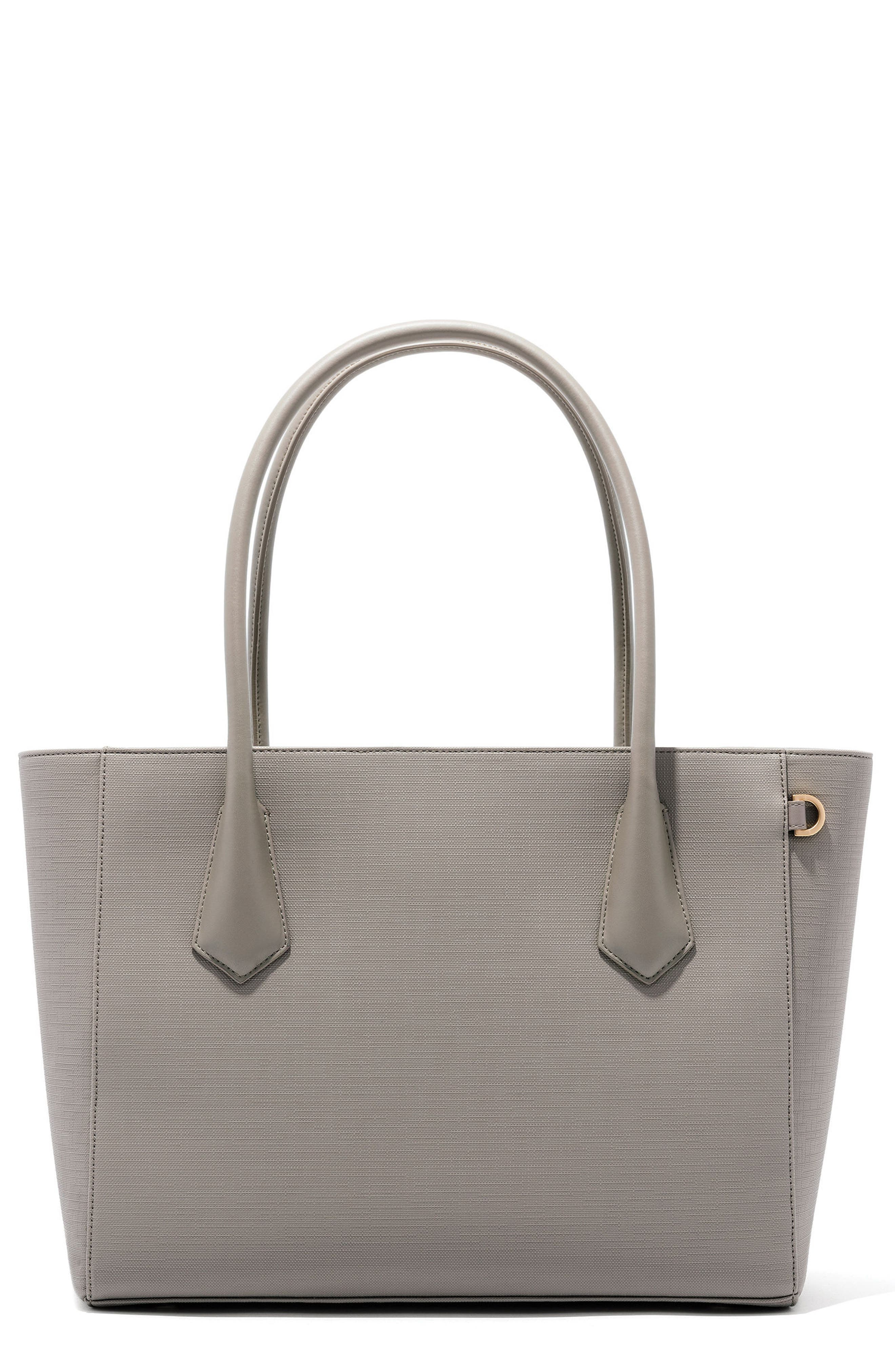 Signature Legend Coated Canvas Tote,                             Main thumbnail 1, color,                             Bleecker Blush