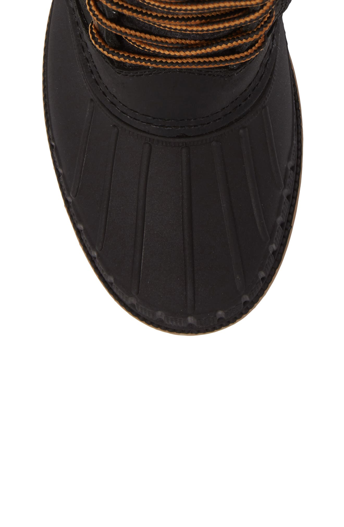 Sienna Boot,                             Alternate thumbnail 4, color,                             Black Fabric