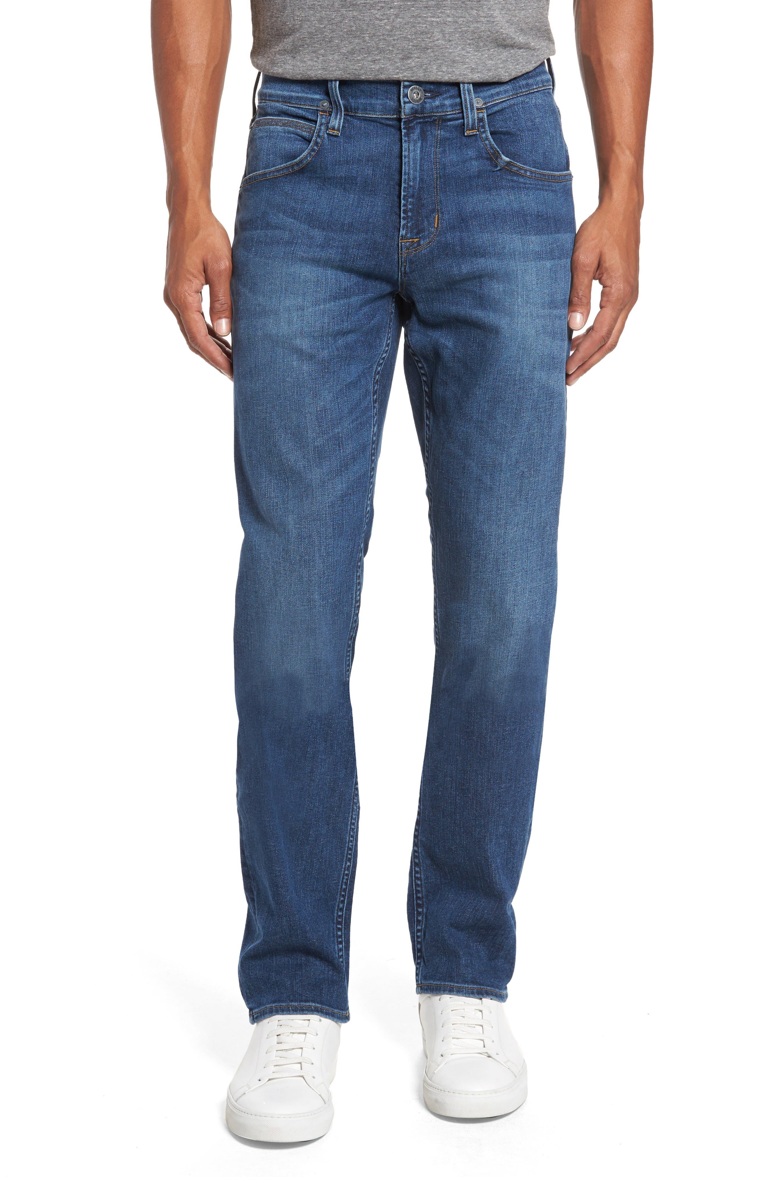 Hudson Jeans Byron Slim Straight Leg Jeans (Transit)