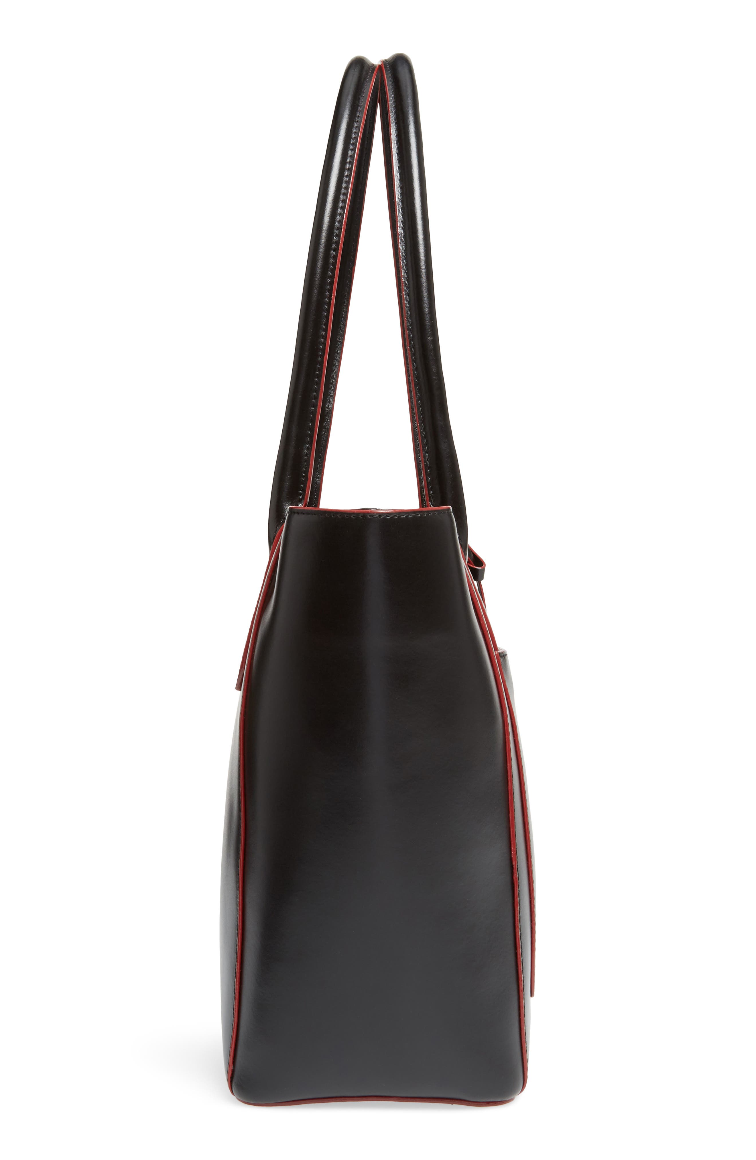 Alternate Image 4  - LODIS Los Angeles Audrey Under Lock & Key - Medium Margaret RFID Leather Tote with Zip Pouch