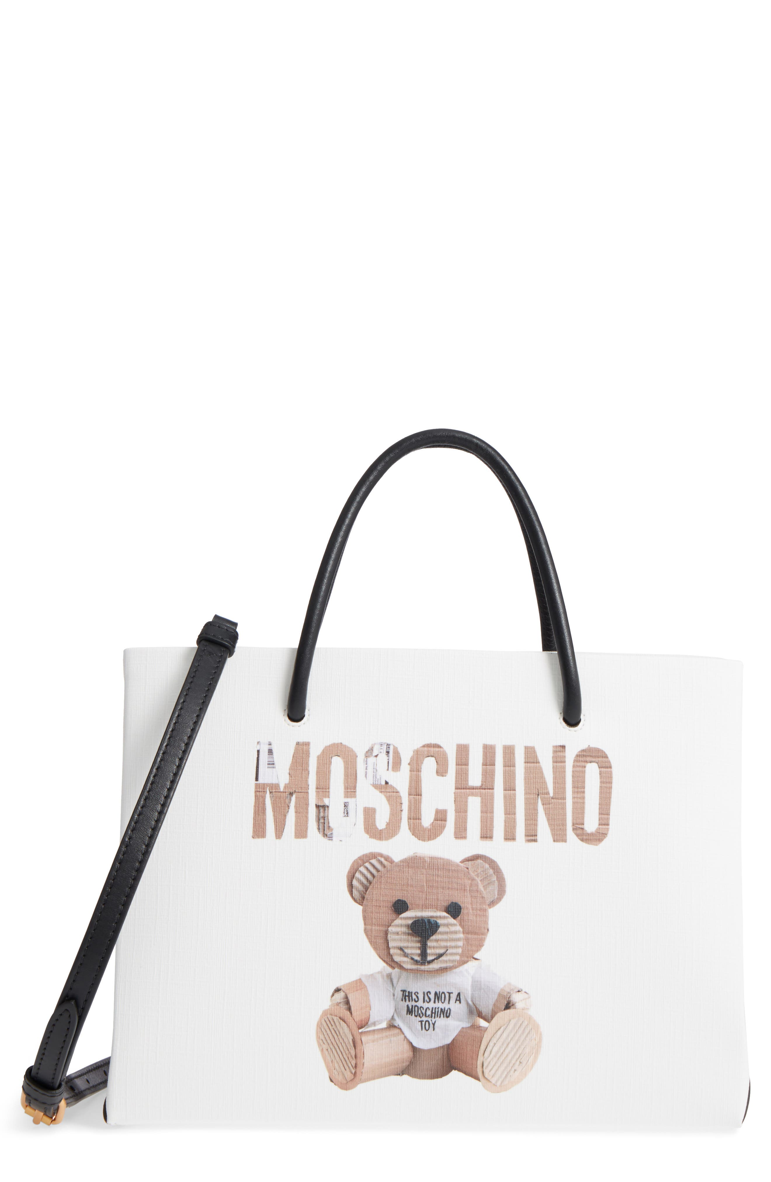Alternate Image 1 Selected - Moschino Bear Shopping Tote