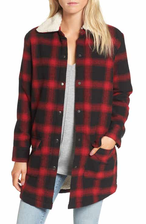 Women's Fleece Coats & Jackets | Nordstrom