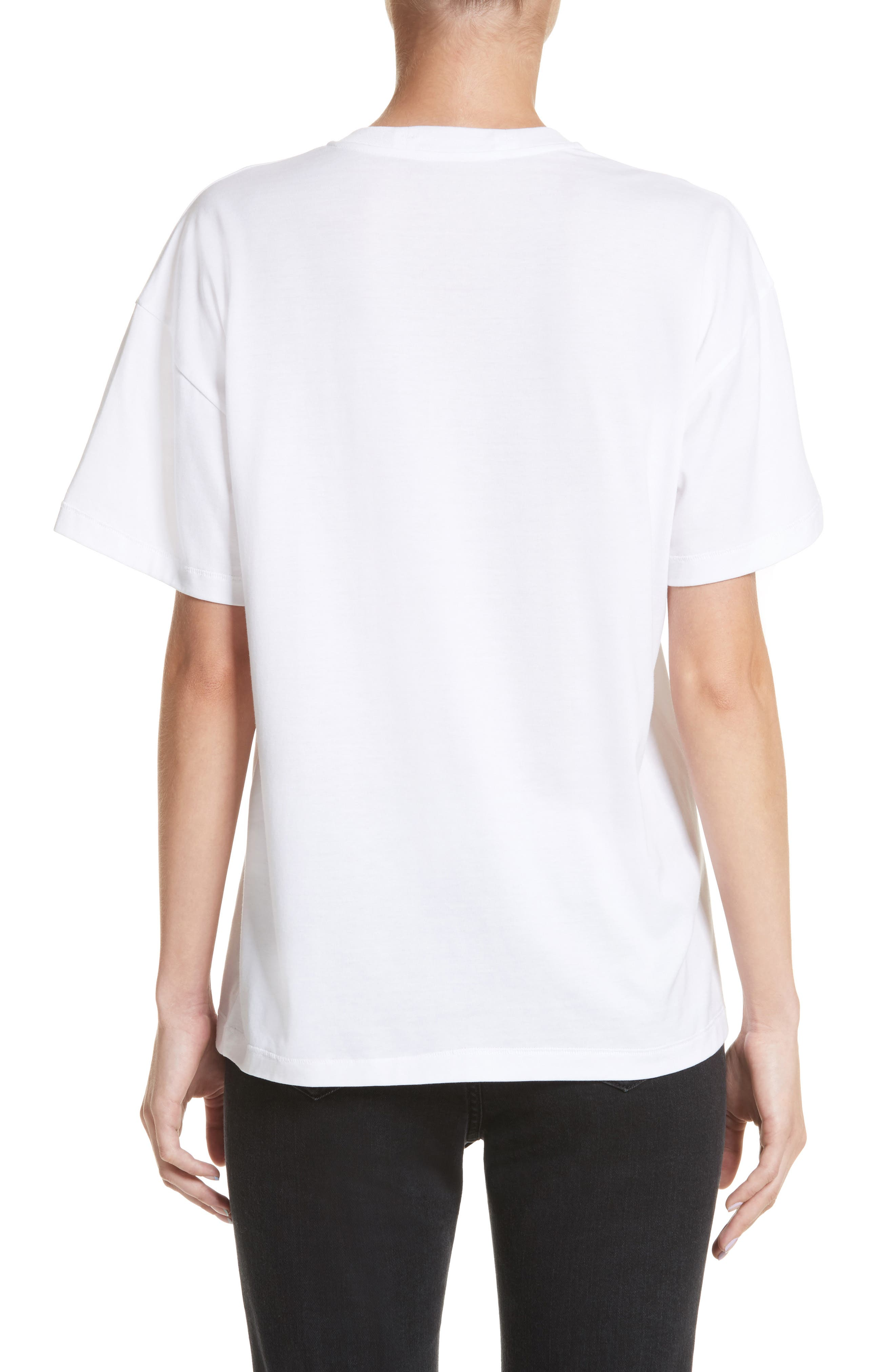 Sequin Tee,                             Alternate thumbnail 2, color,                             White