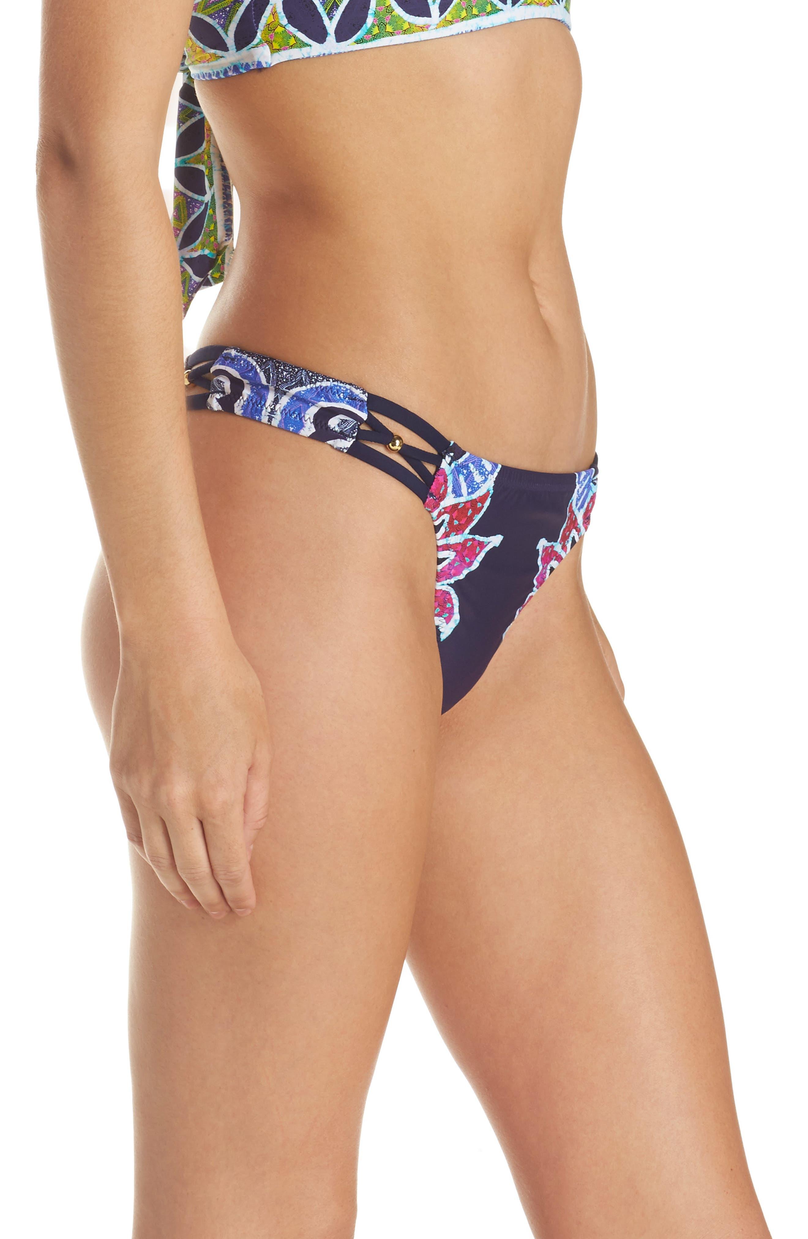 Alternate Image 3  - Trina Turk Lotus Bikini Bottoms