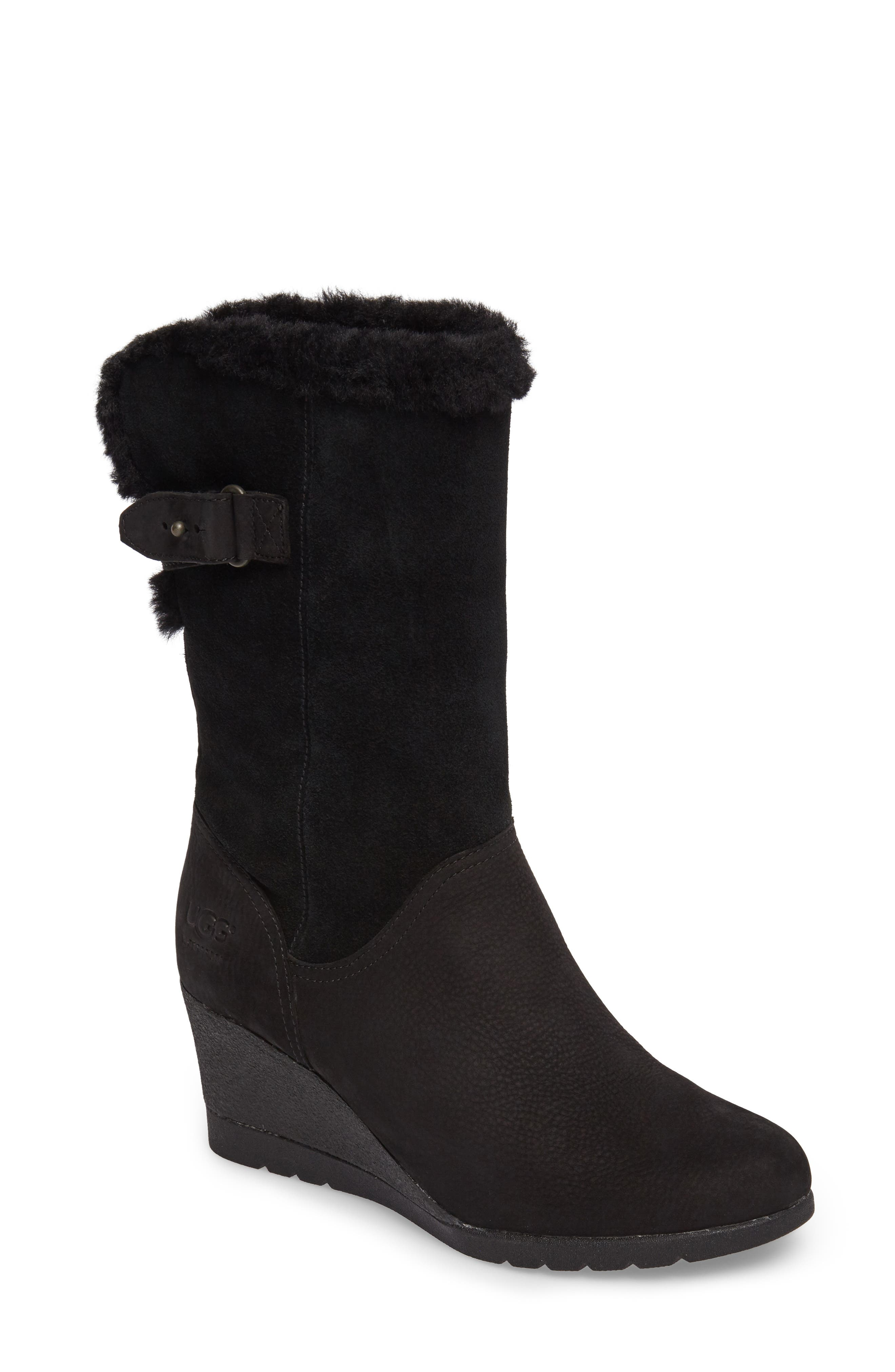 UGG® Edelina Waterproof Wedge Boot (Women)