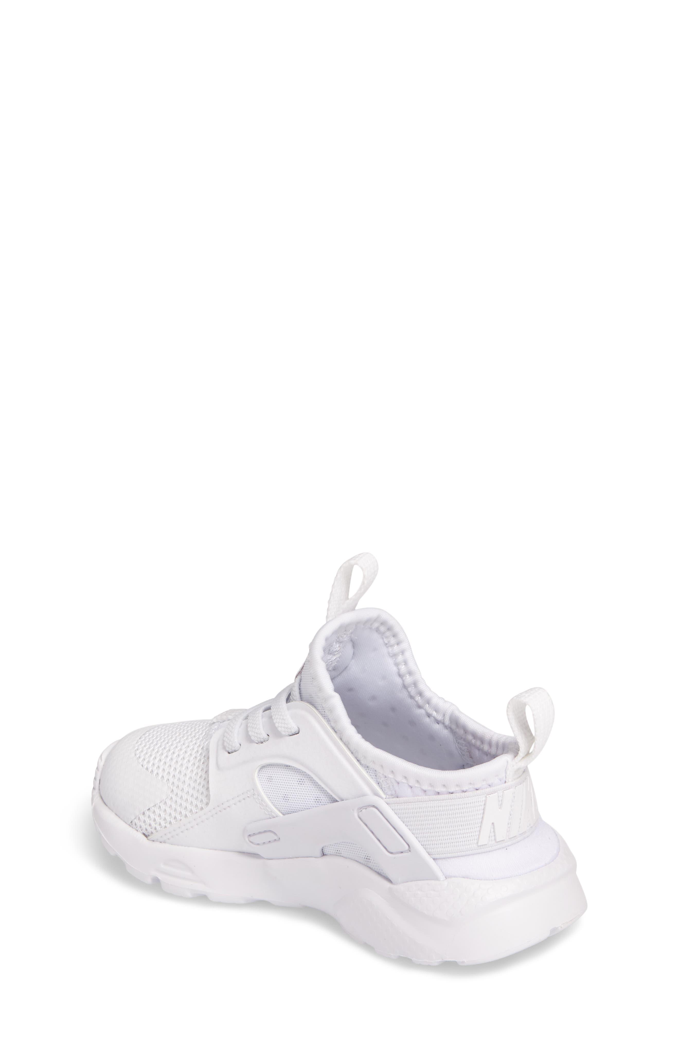 Alternate Image 2  - Nike Huarache Run Ultra Sneaker (Baby, Walker & Toddler)