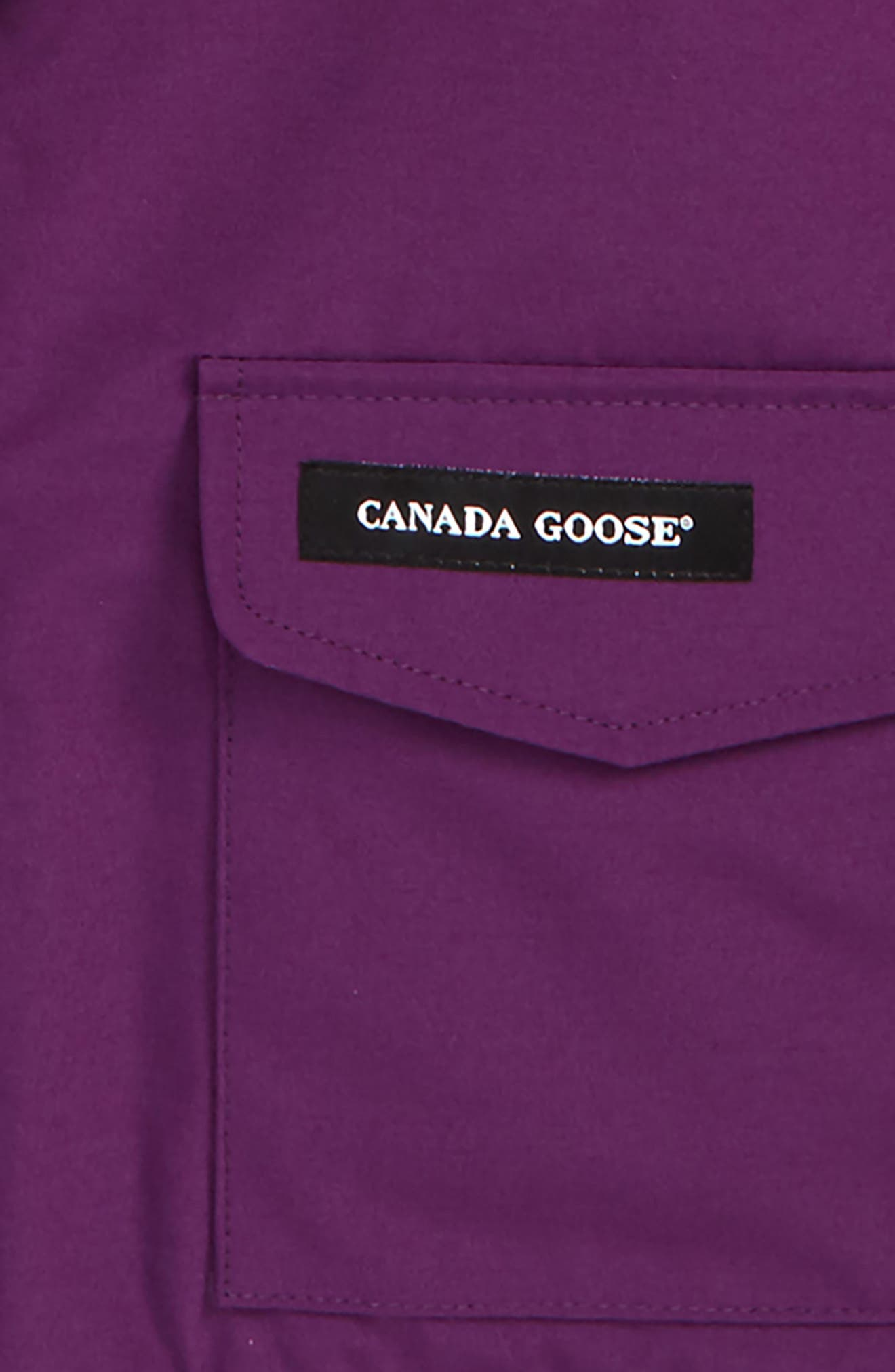 Alternate Image 2  - Canada Goose 'Lynx' Down Parka with Genuine Coyote Fur Trim (Toddler & Little Kids)