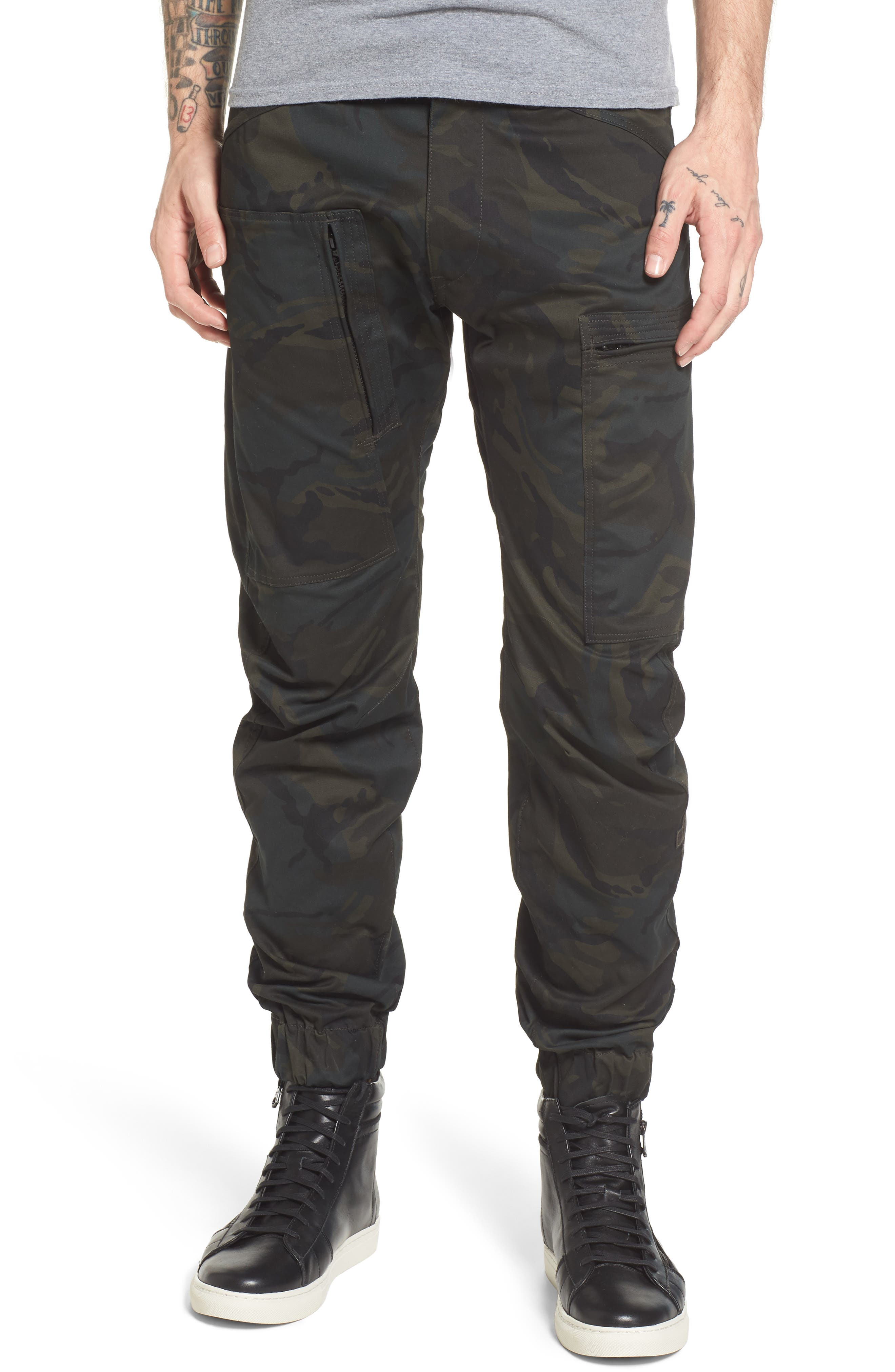Alternate Image 1 Selected - G-Star Raw Powel 3D Tapered Jogger Pants