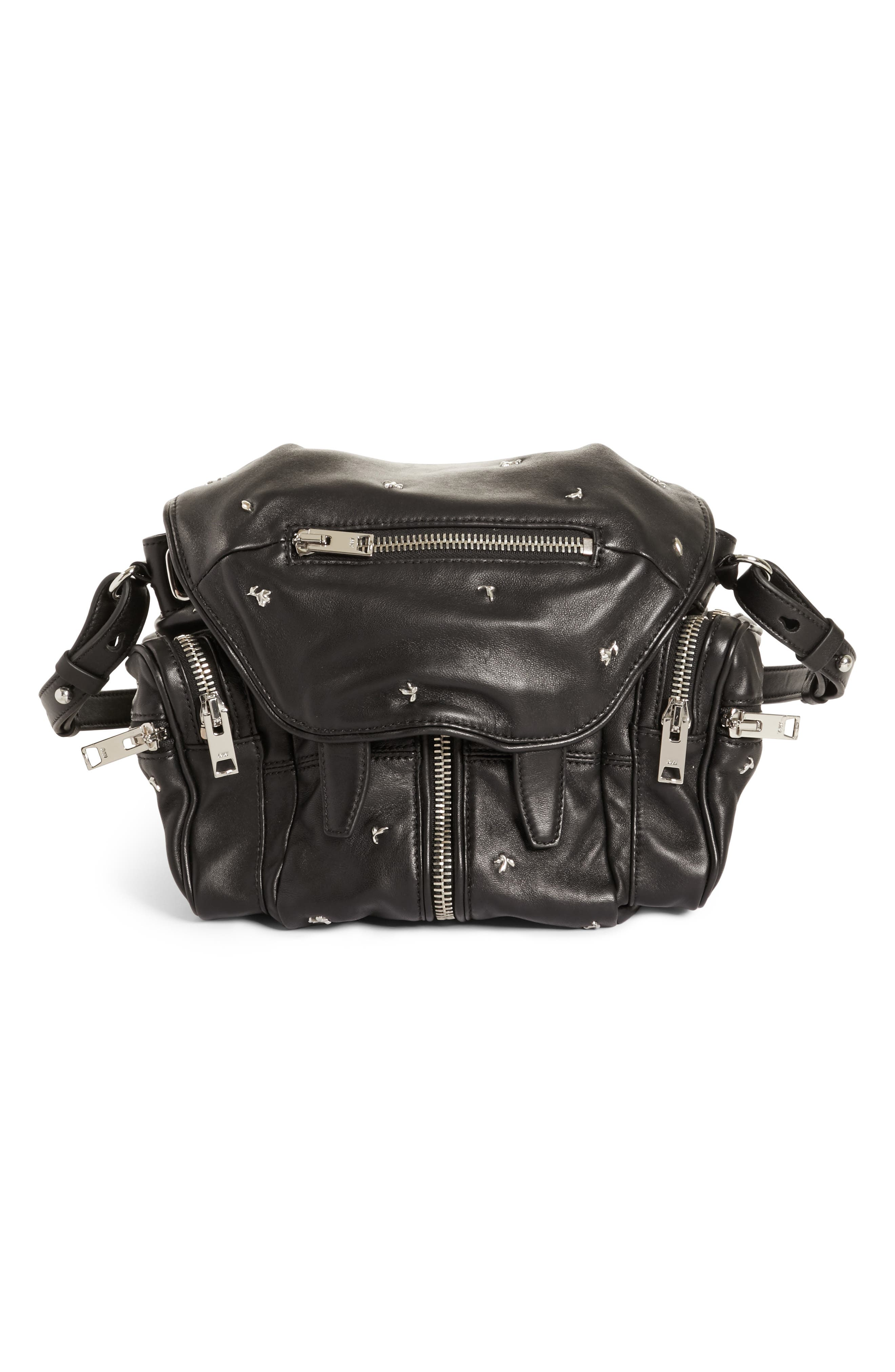Alternate Image 1 Selected - Alexander Wang Mini Marti Rose Studded Convertible Leather Backpack