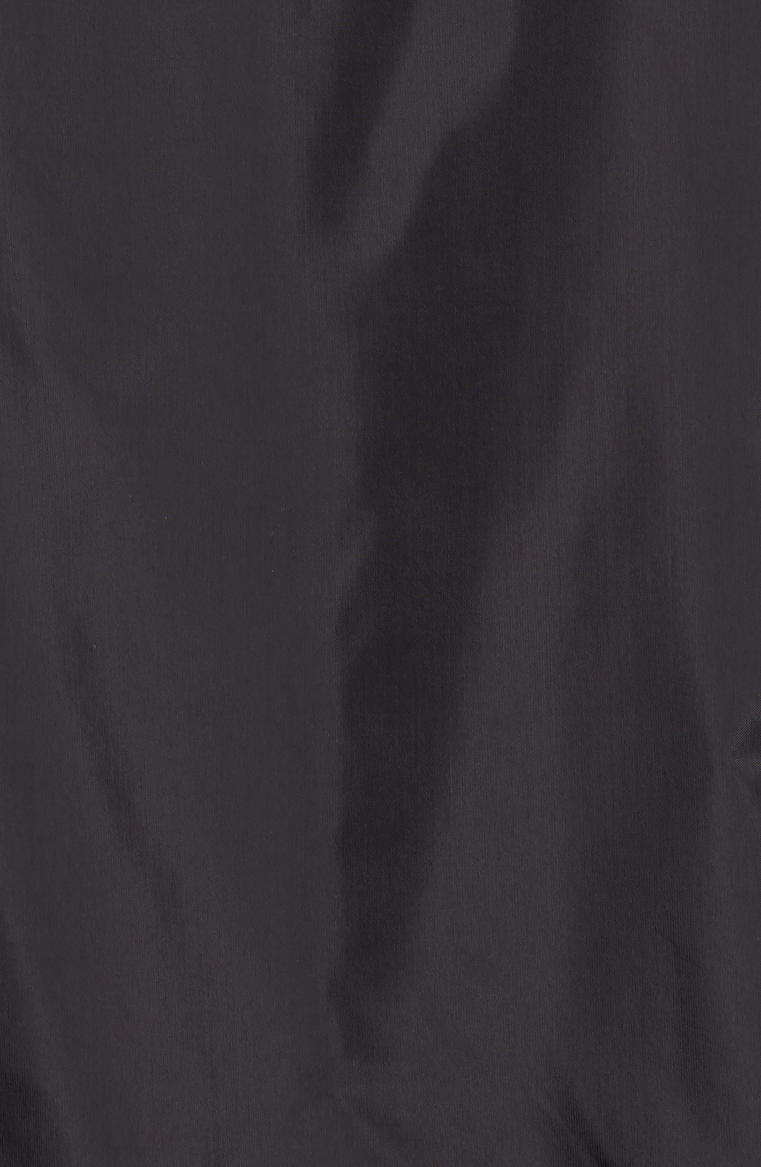 Nine Iron Water-Repellent Jacket,                             Alternate thumbnail 5, color,                             Black