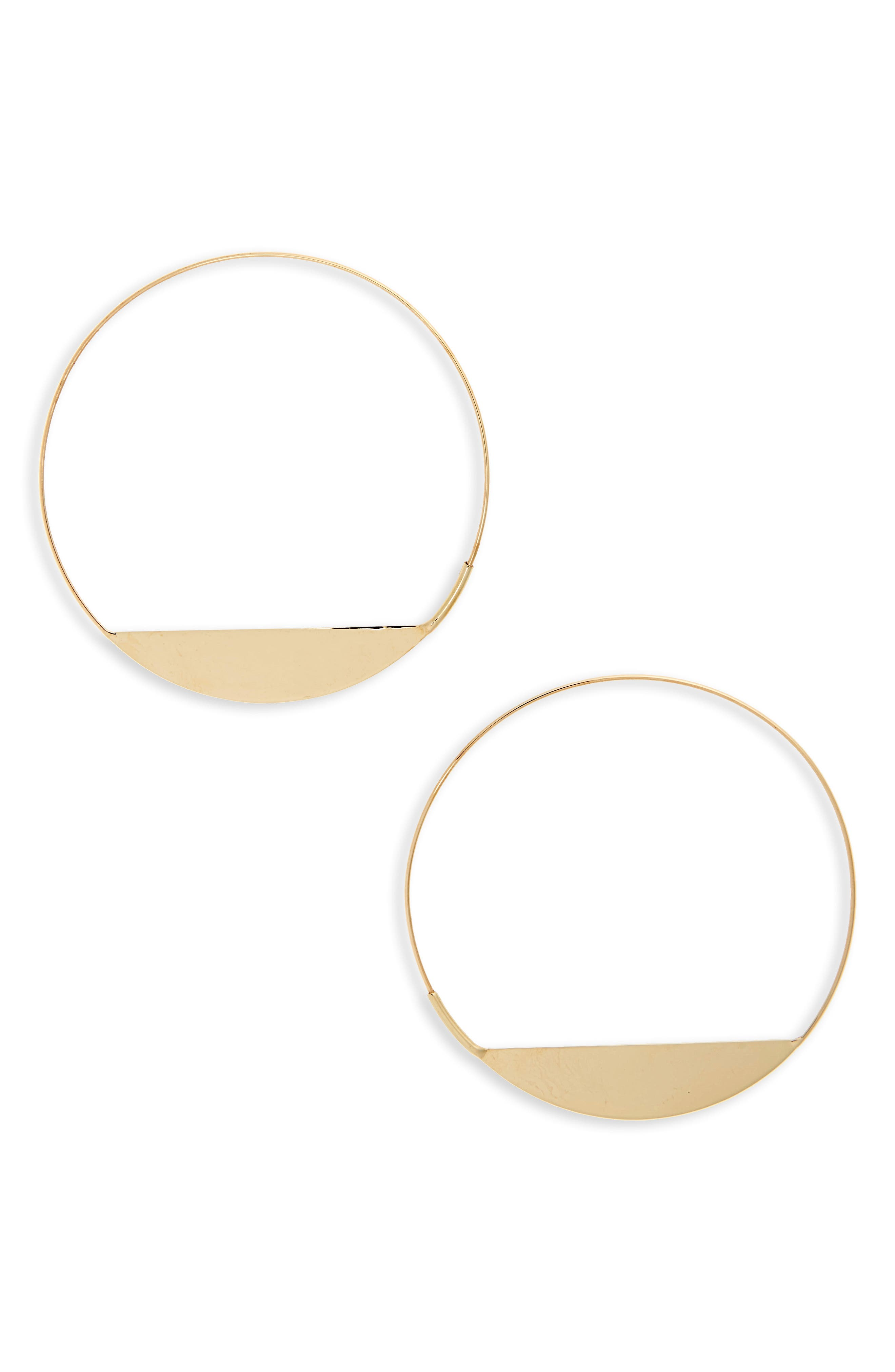 Eclipse Magic Hoop,                         Main,                         color, Yellow Gold