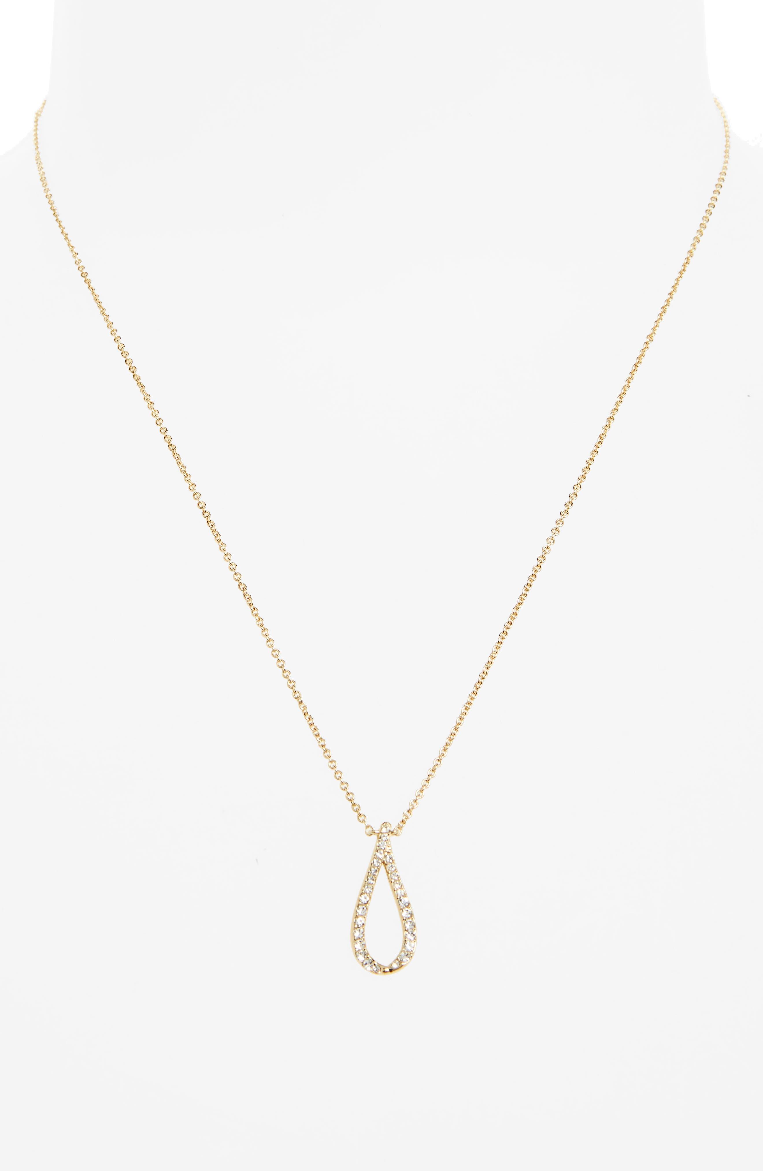 Citron Pendant Necklace,                             Alternate thumbnail 2, color,                             Gold