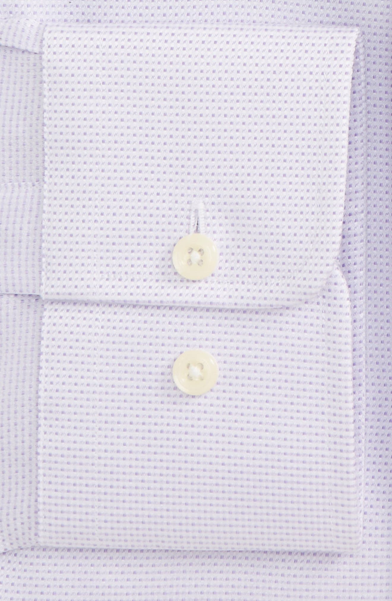 Alternate Image 2  - David Donahue Regular Fit Solid Dress Shirt