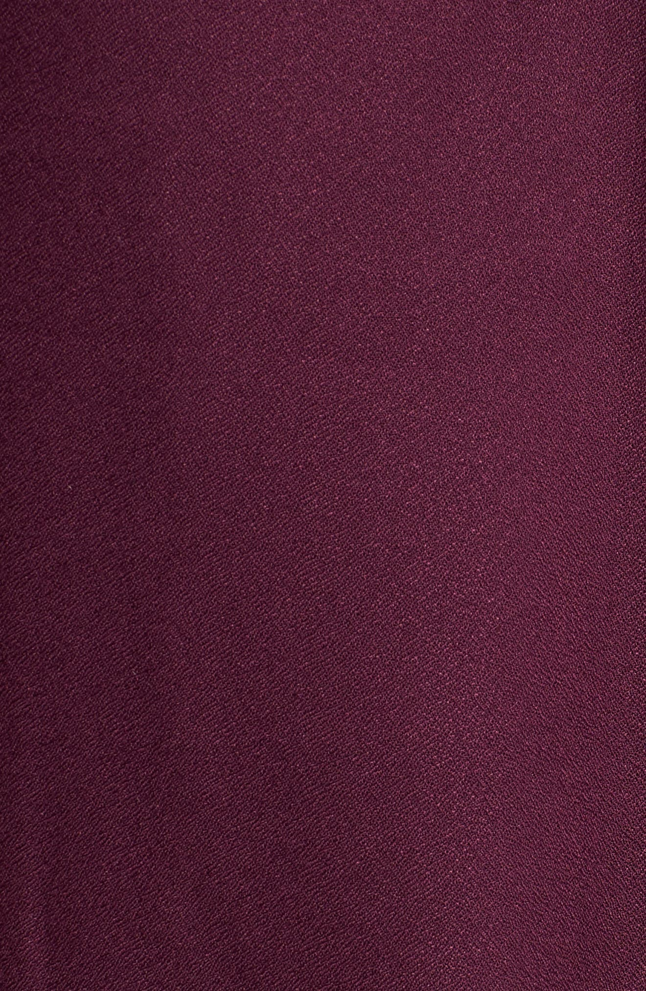 Blouson Sleeve Top,                             Alternate thumbnail 5, color,                             Purple Potent
