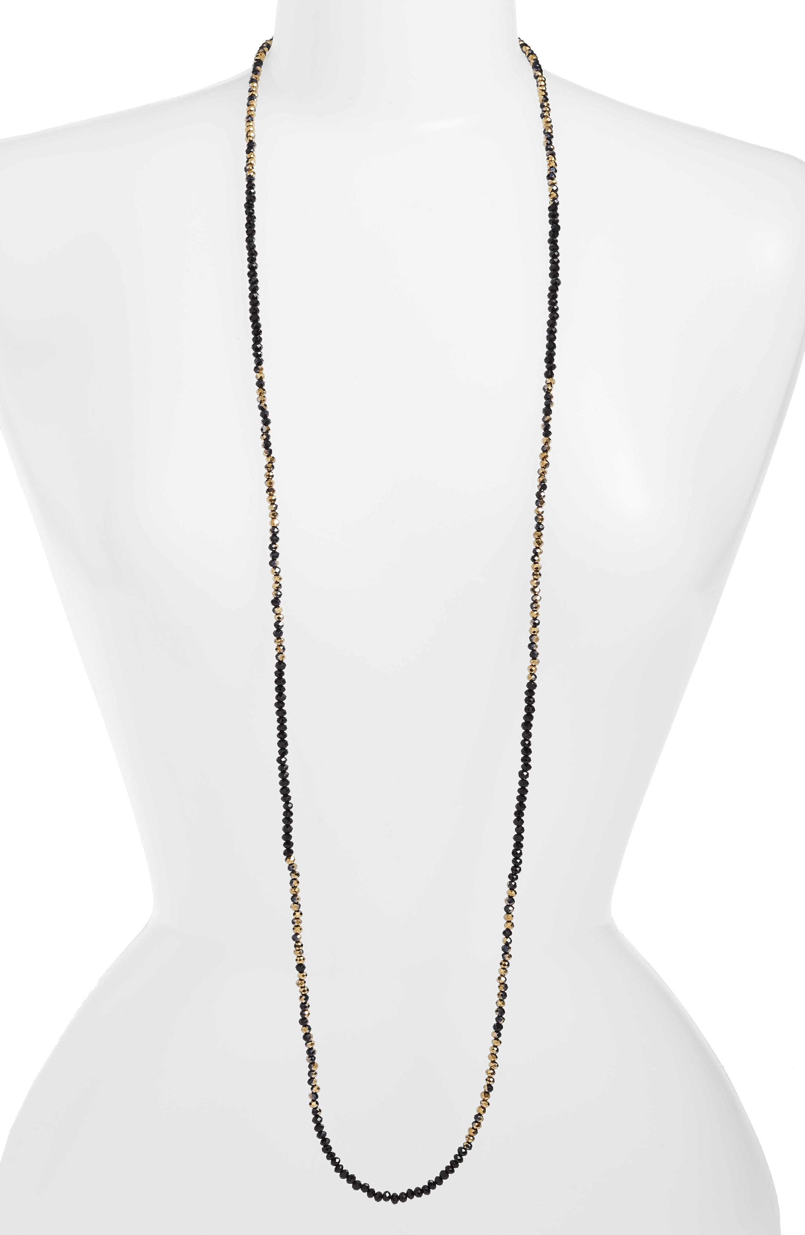 CRISTABELLE Beaded Strand Necklace