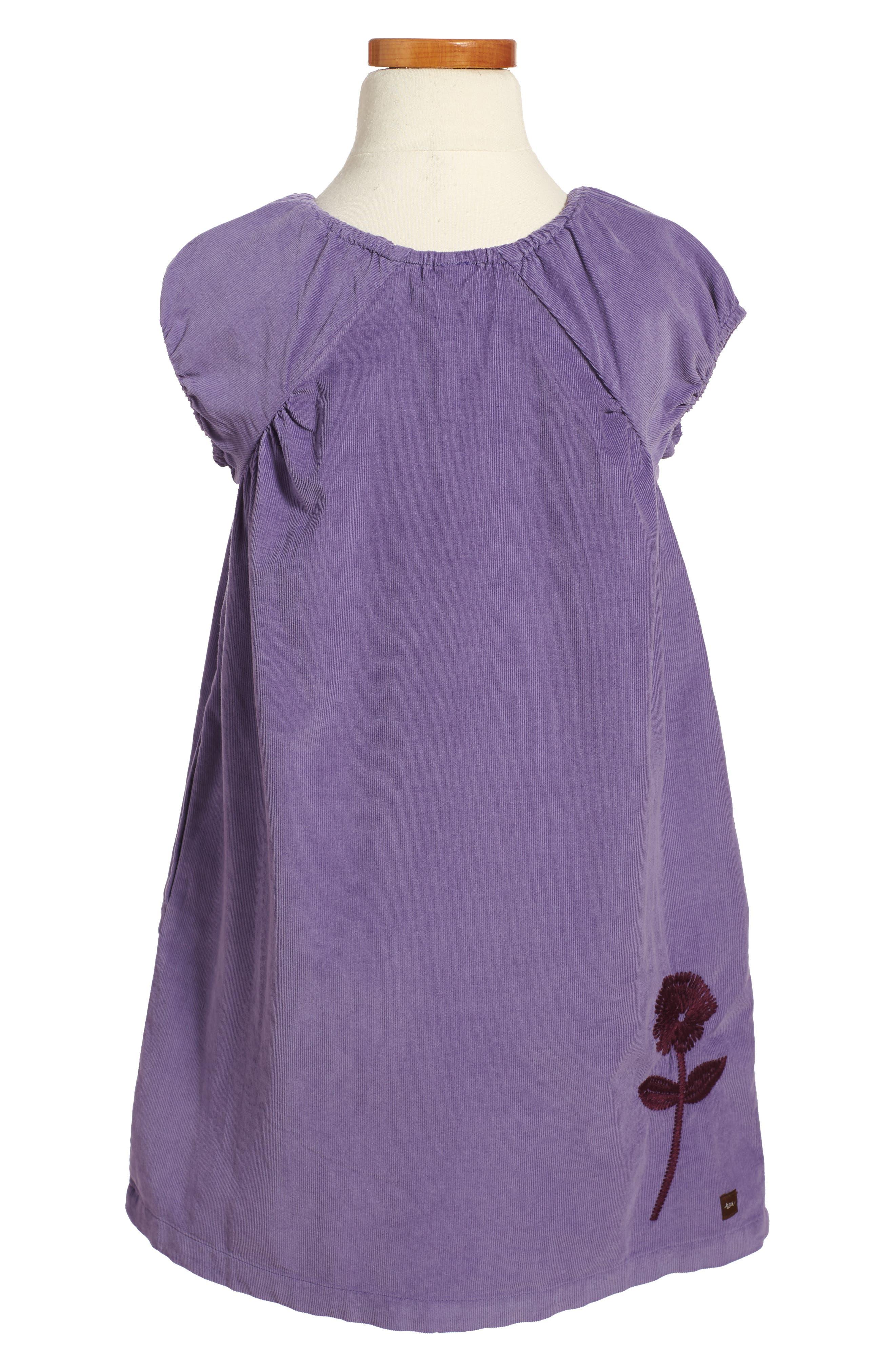 Alternate Image 2  - Tea Collection Cullodena Corduroy Dress (Toddler Girls, Little Girls & Big Girls)
