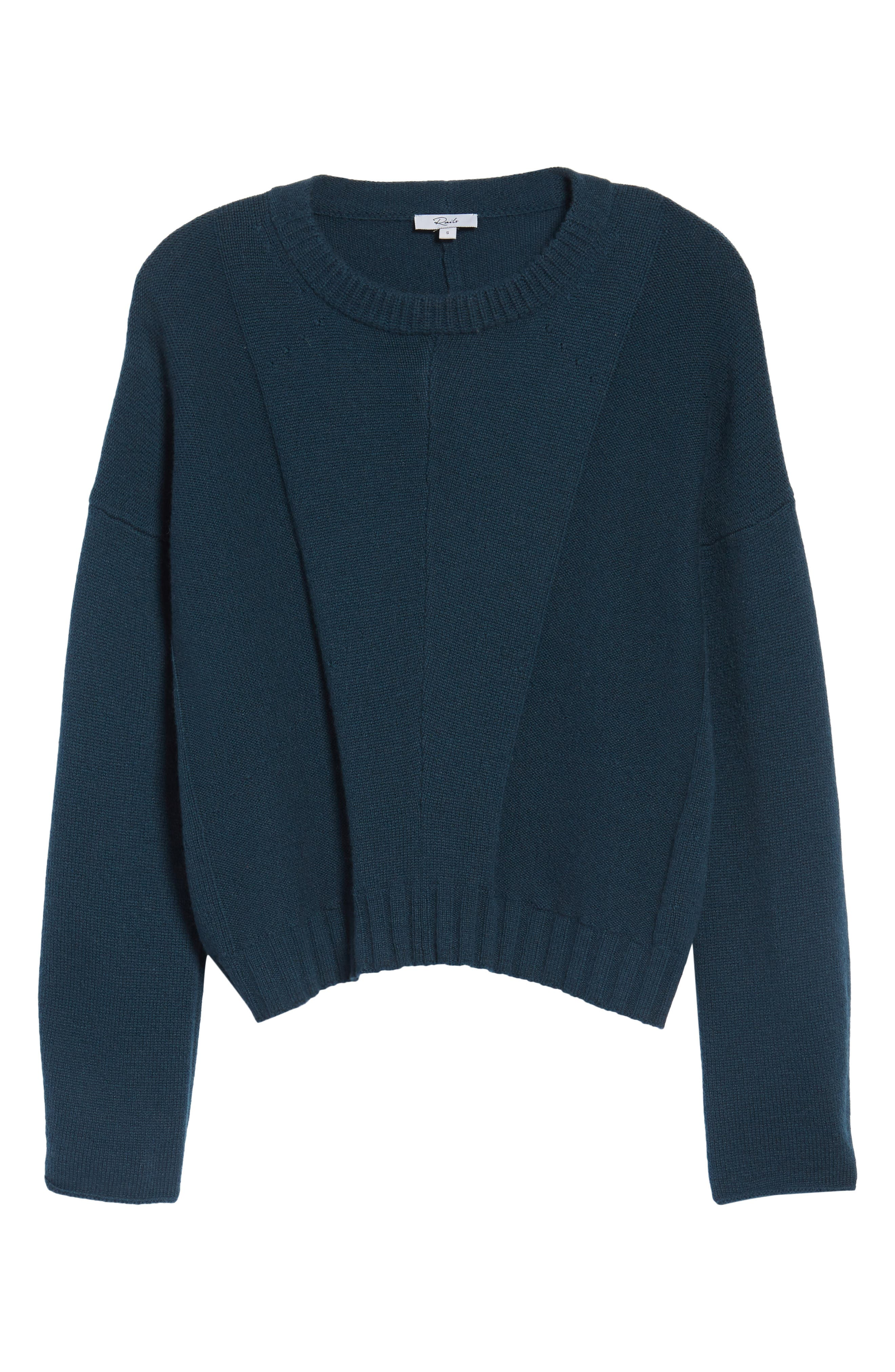 Alternate Image 8  - Rails Joanna Wool & Cashmere Sweater