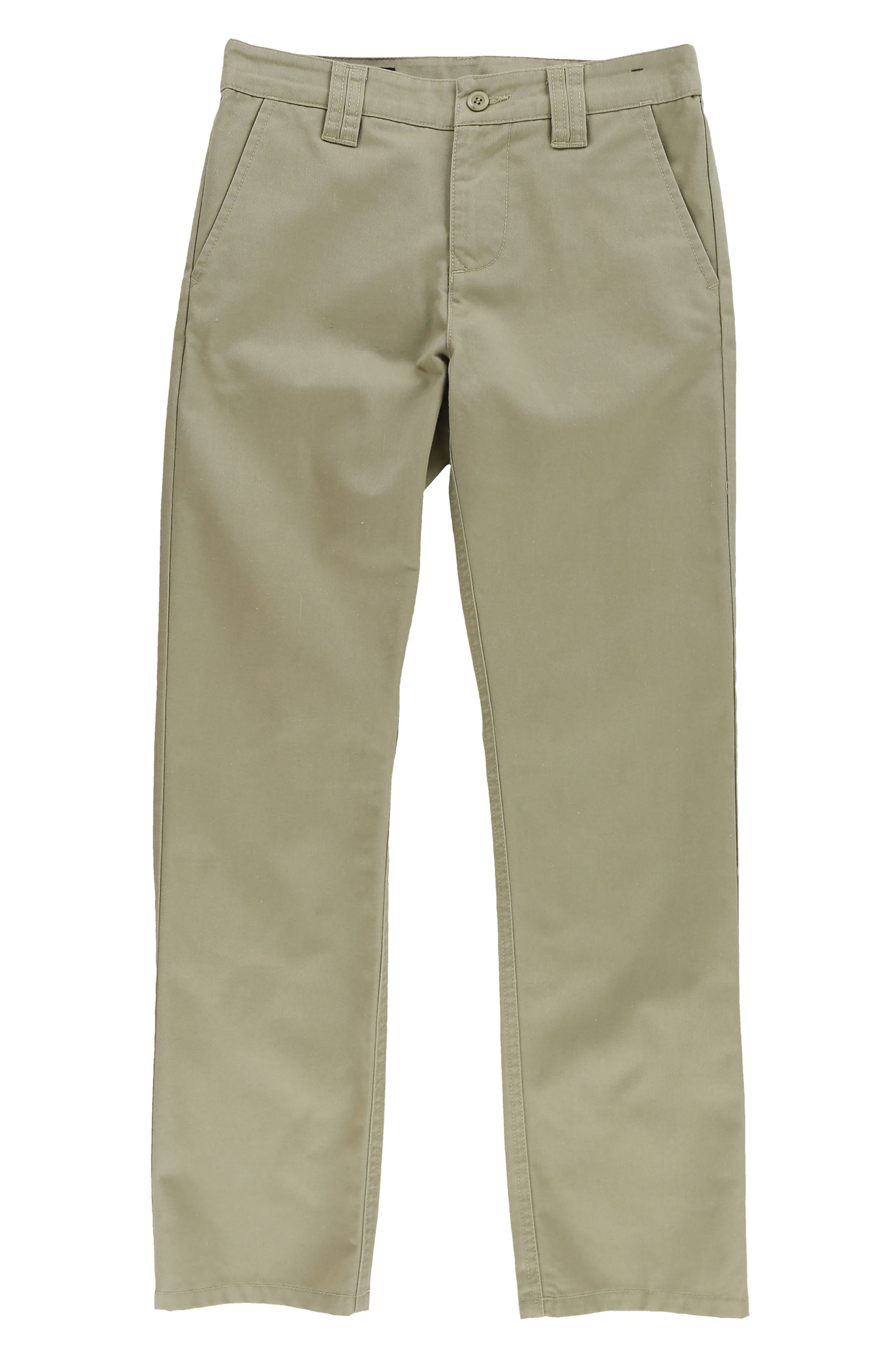 O'Neill Contact Straight Leg Chinos (Big Boys)