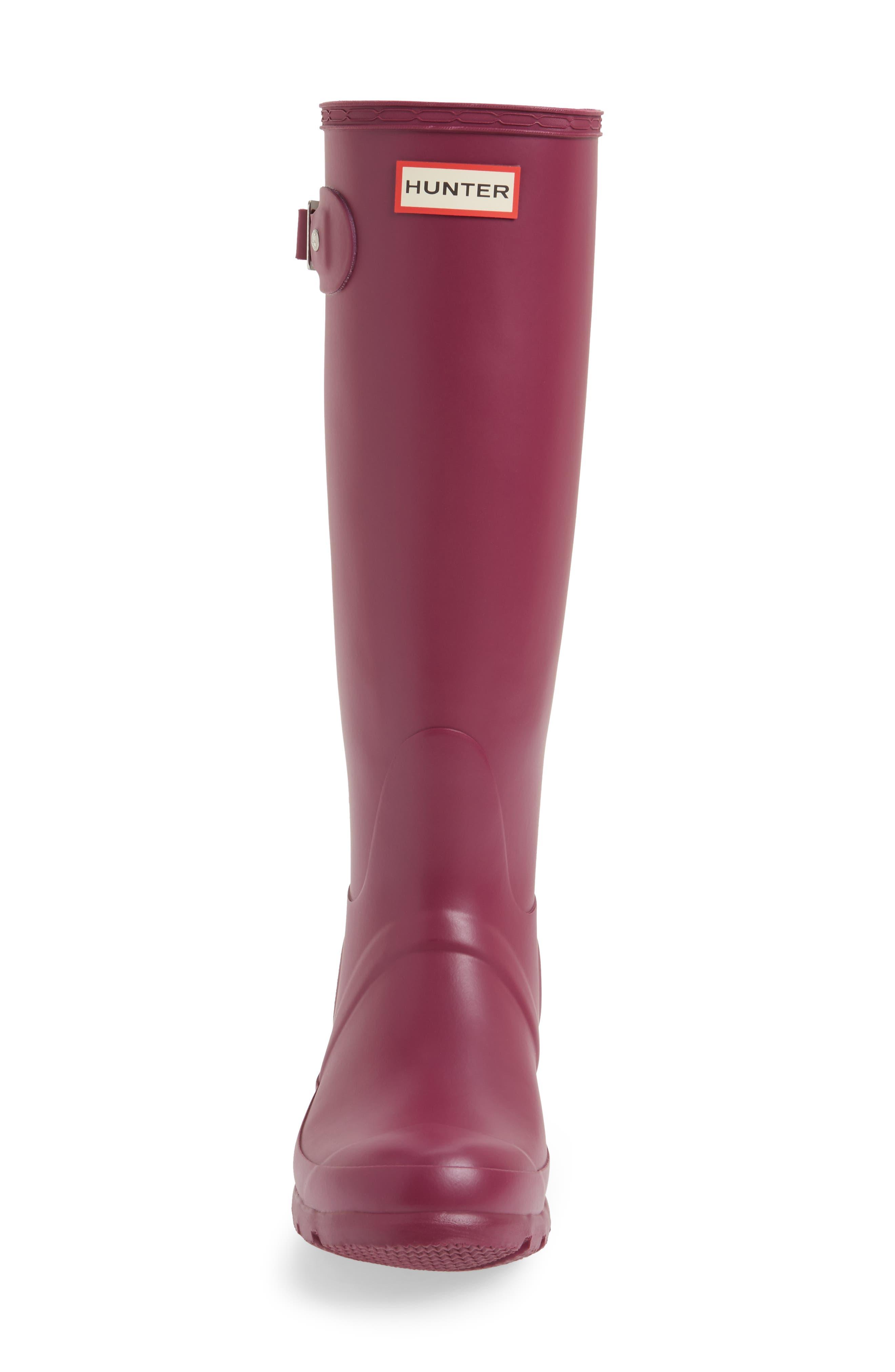 Alternate Image 4  - Hunter 'Original Tall' Rain Boot (Women)
